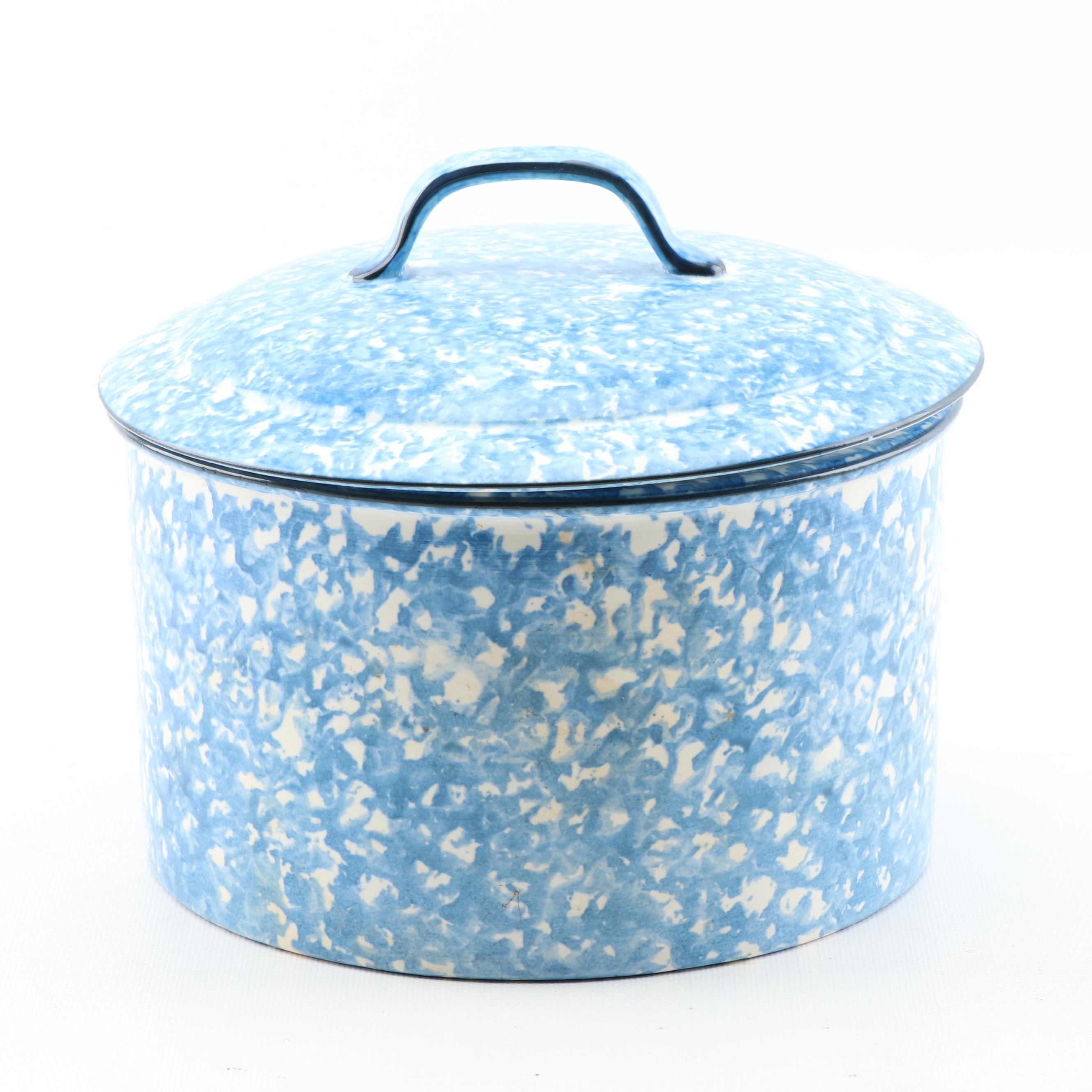 """Stangl """"Town & Country Blue"""" Two-Quart Covered Casserole"""