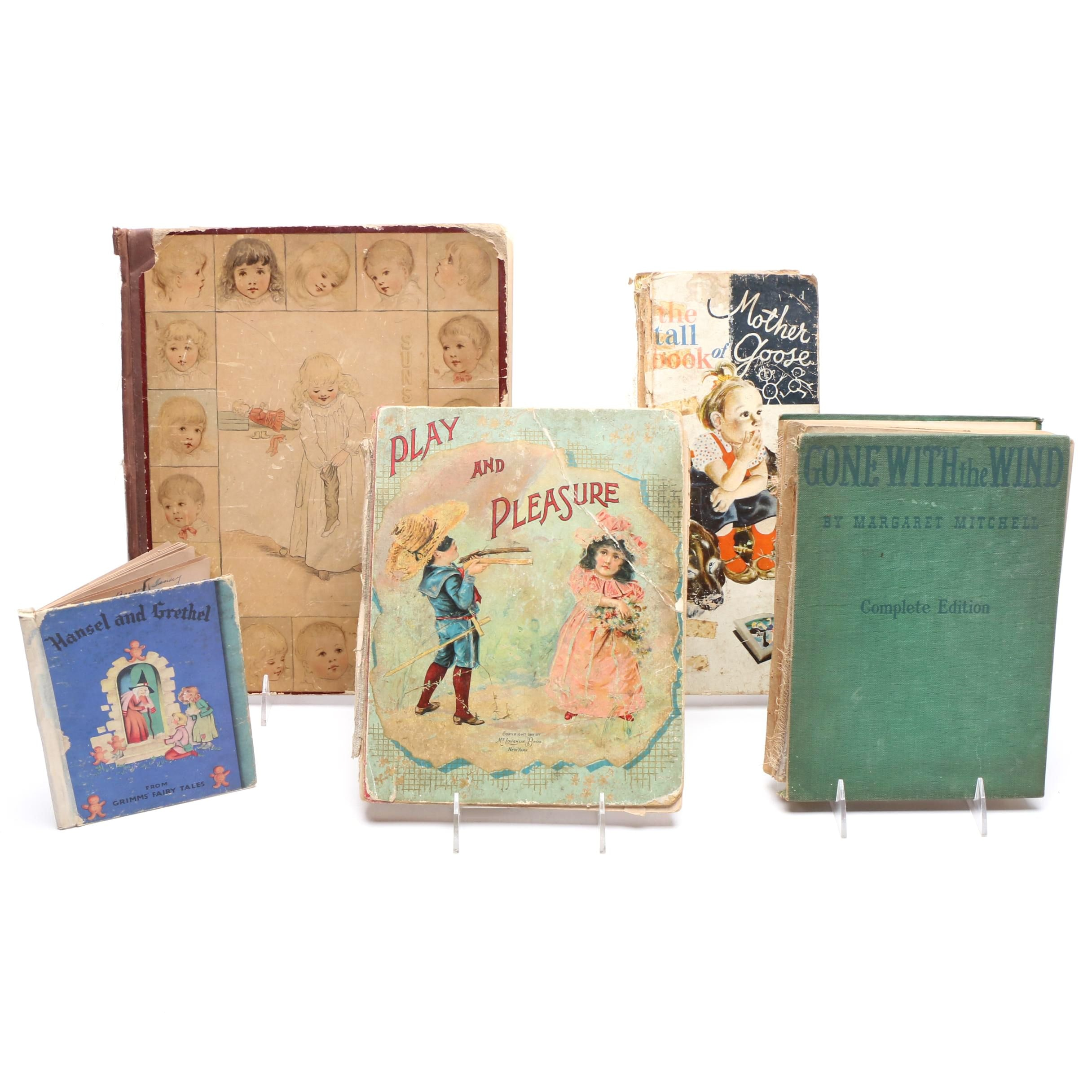 """""""Gone with the Wind"""" Hardback and Vintage Children's Books"""