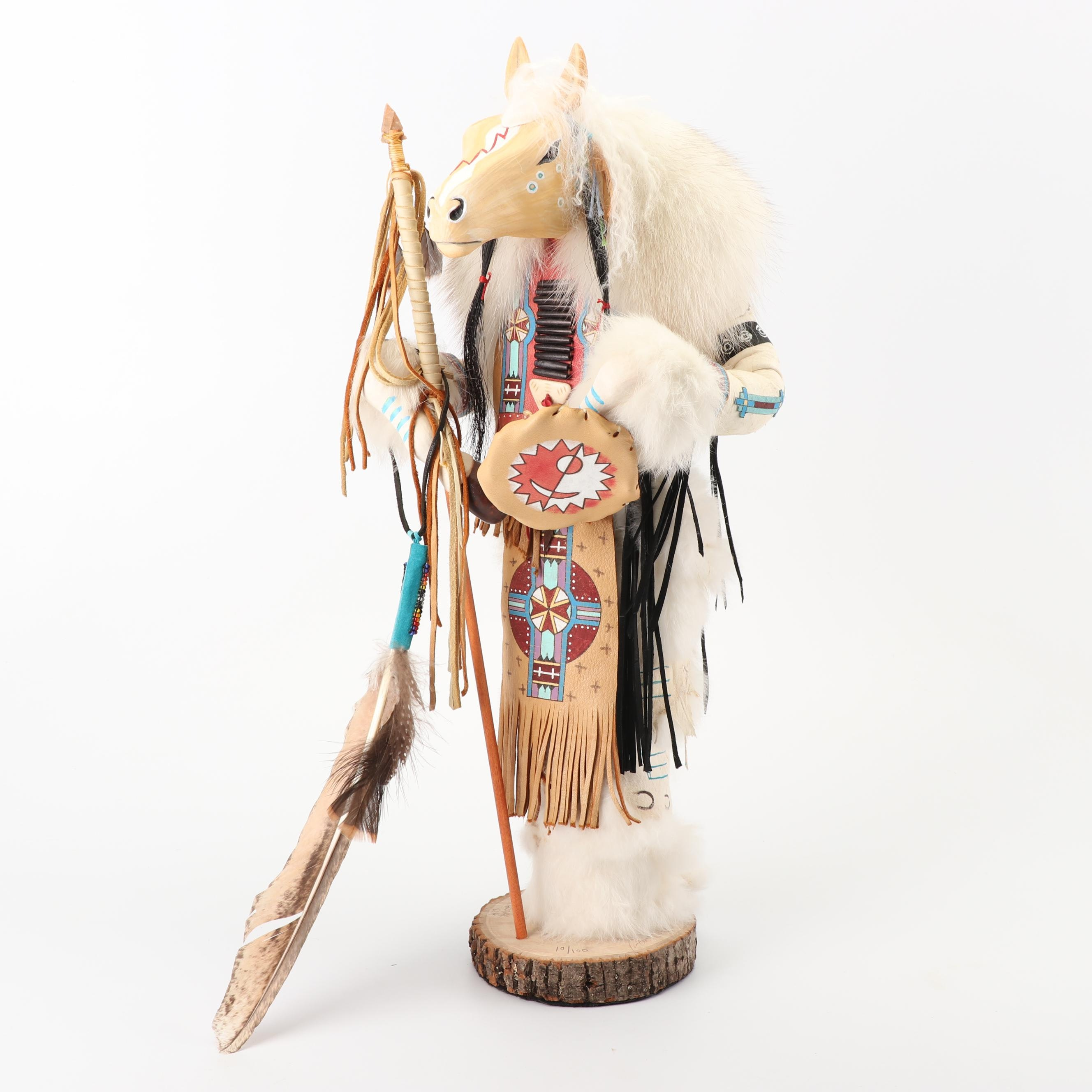 "Kevin Gadomski Manitou Sculpture ""Horse"""