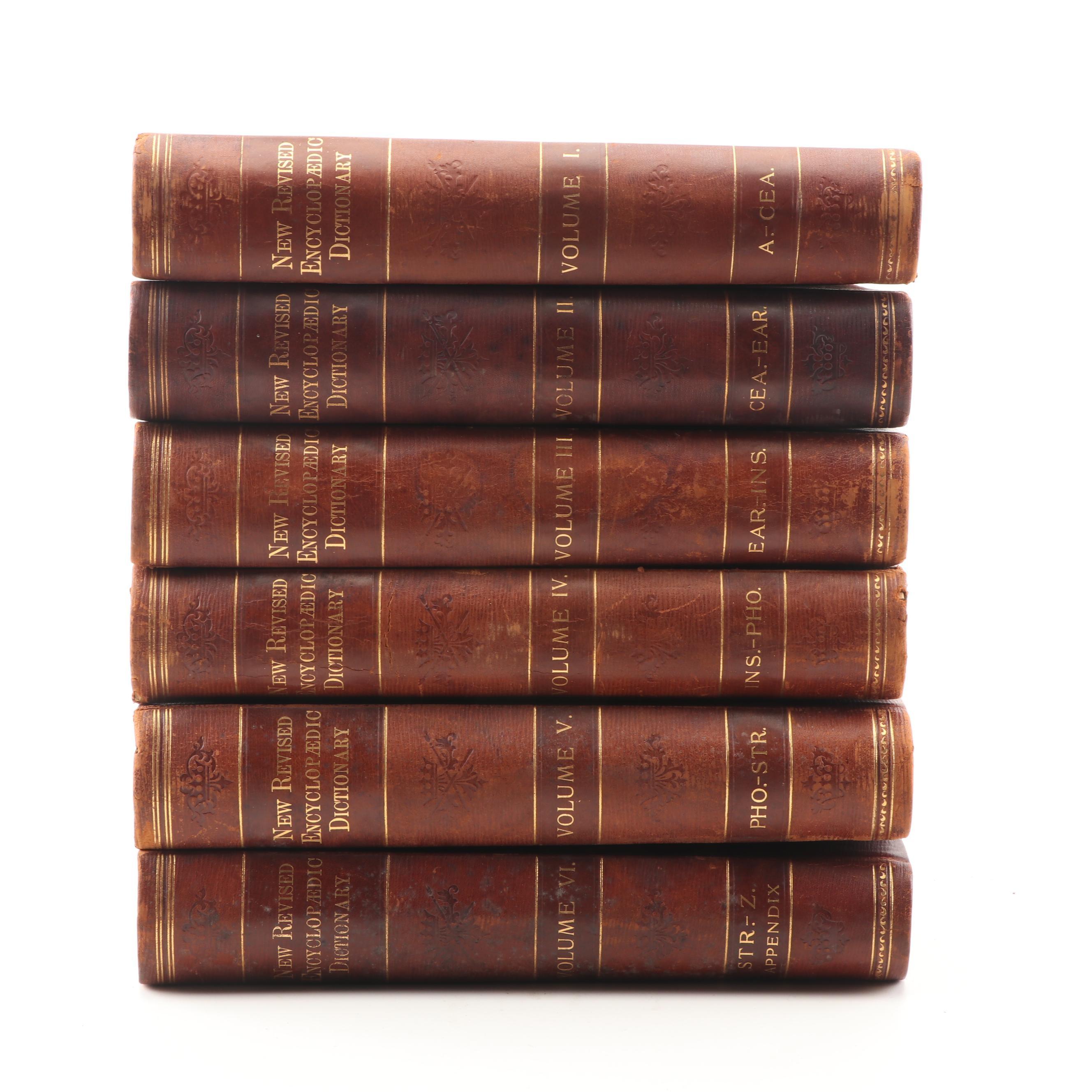 "Twentieth Century Edition ""Encyclopædic Dictionary"" ed. Robert Hunter, 1900"