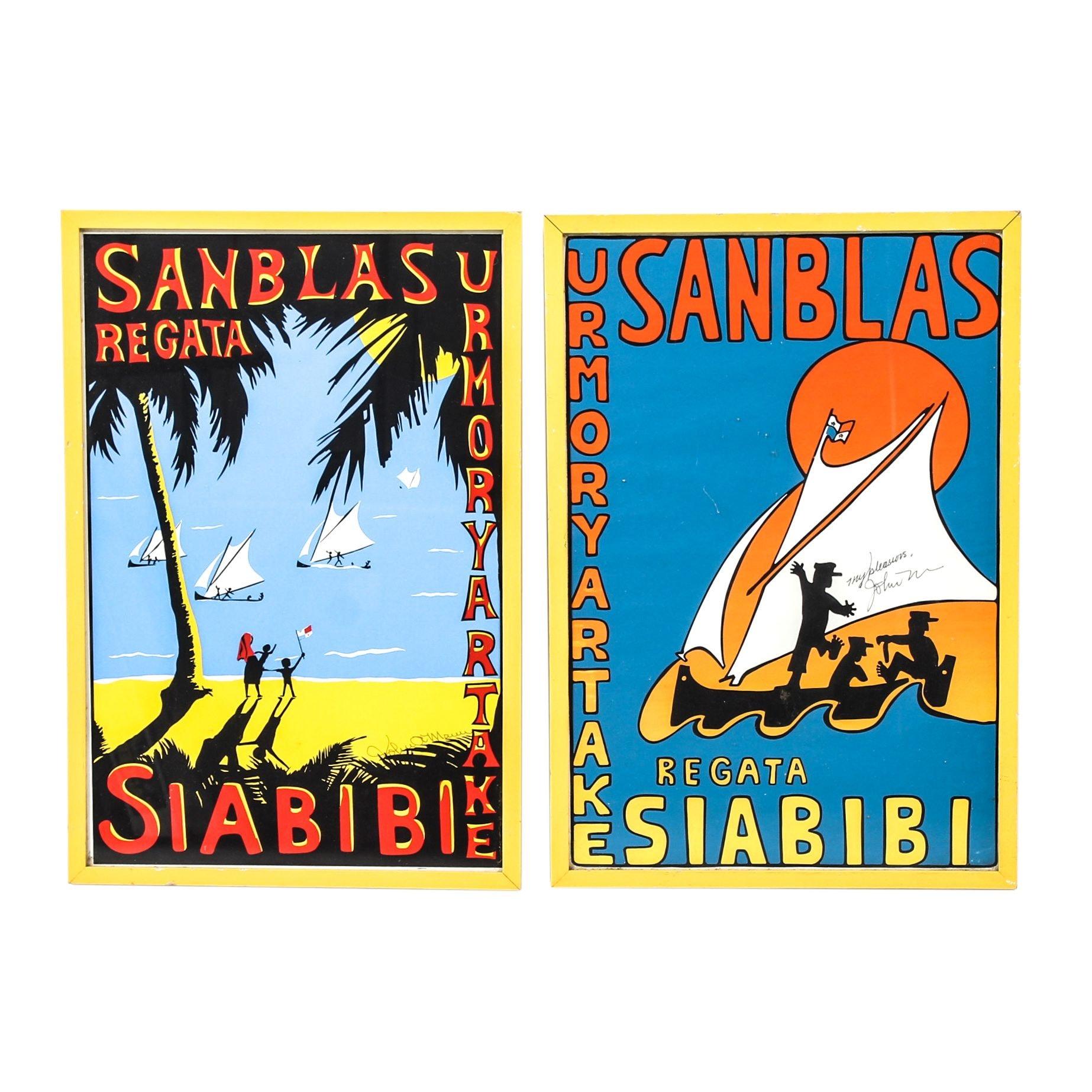 San Blas Regata Serigraph Posters