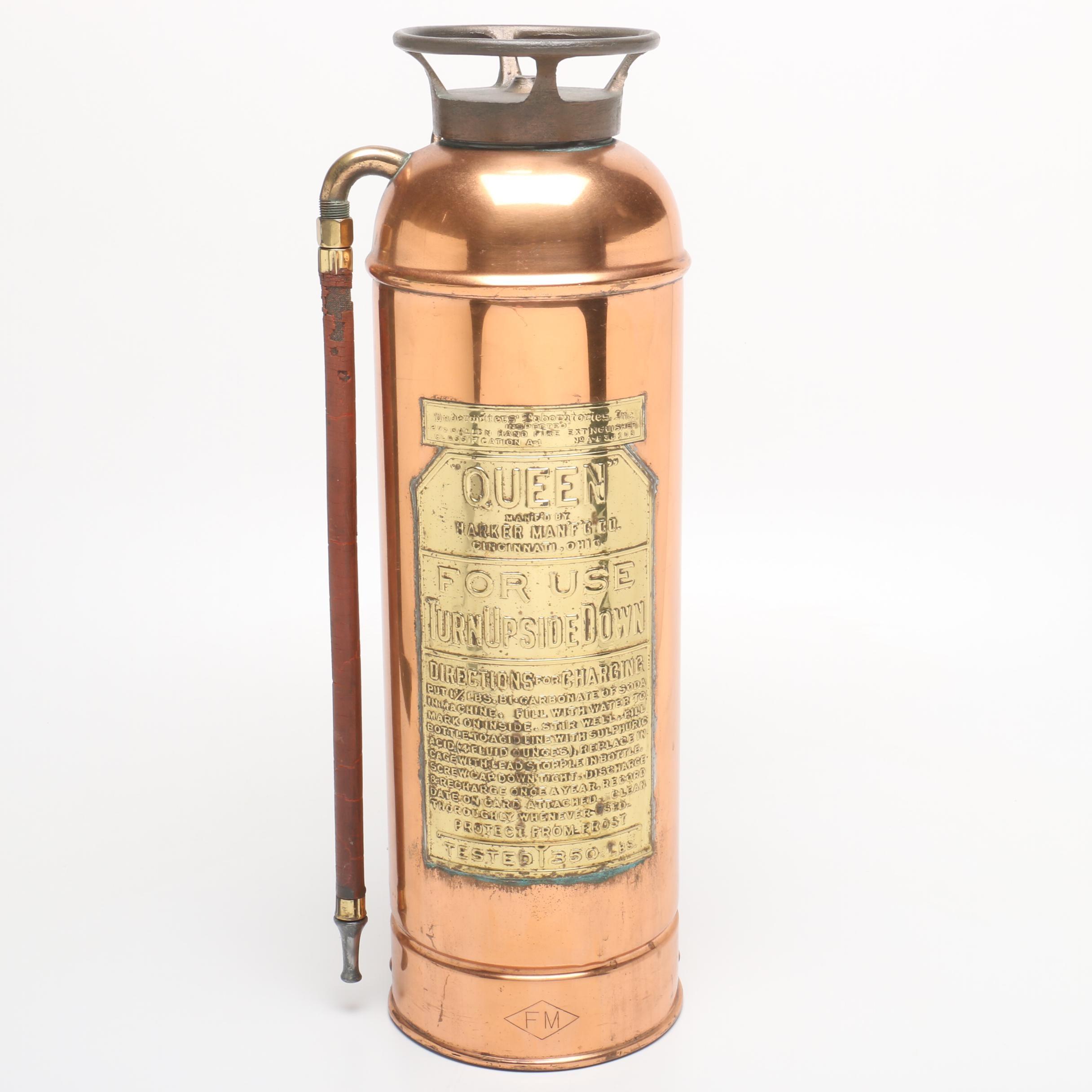 """Harker """"Queen"""" Fire Extinguisher"""