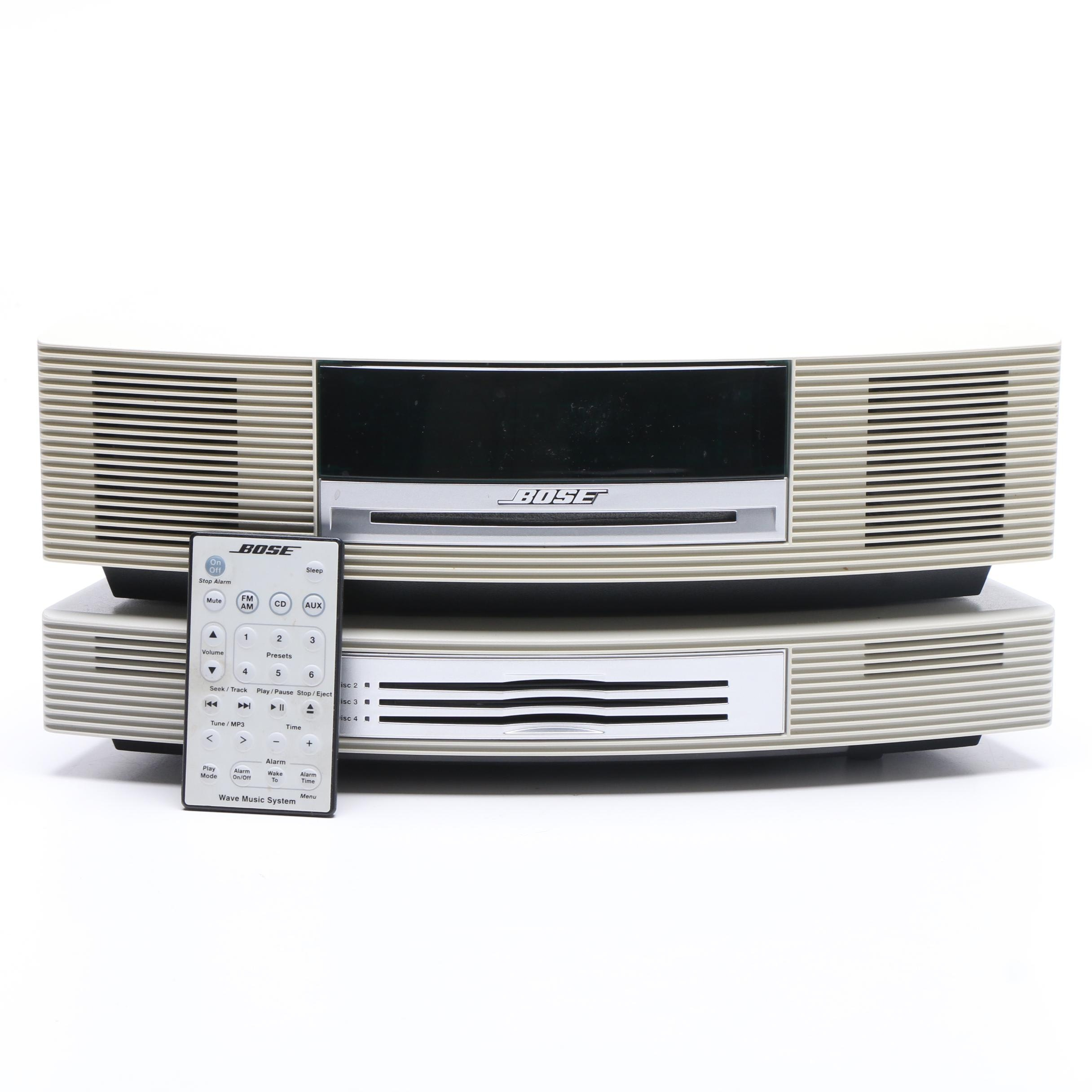 Bose Wave Music System with CD Changer