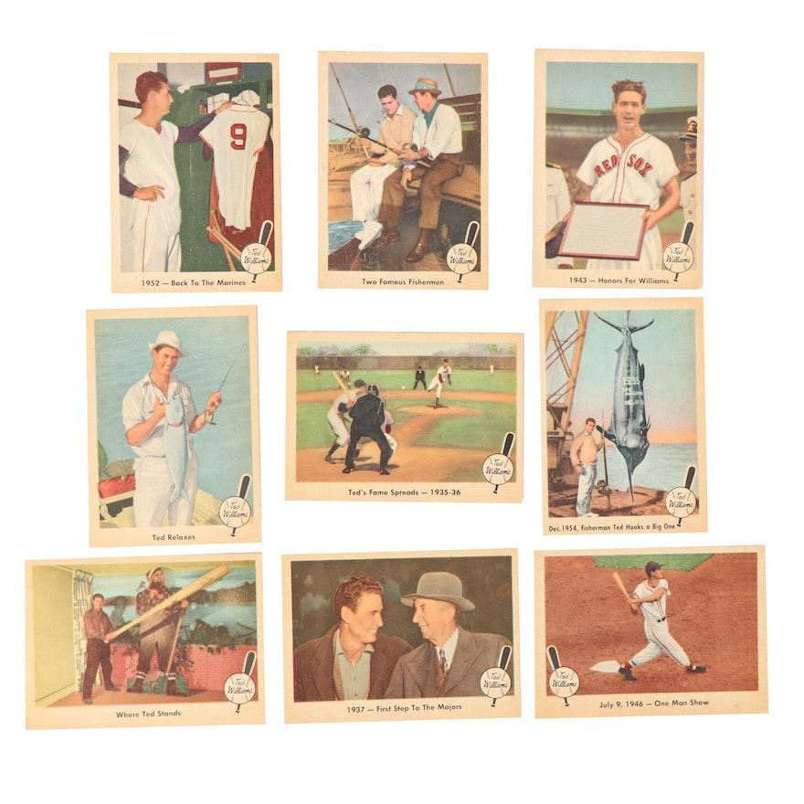 Fleer Ted Williams Baseball Greatest Baseball Cards 1959