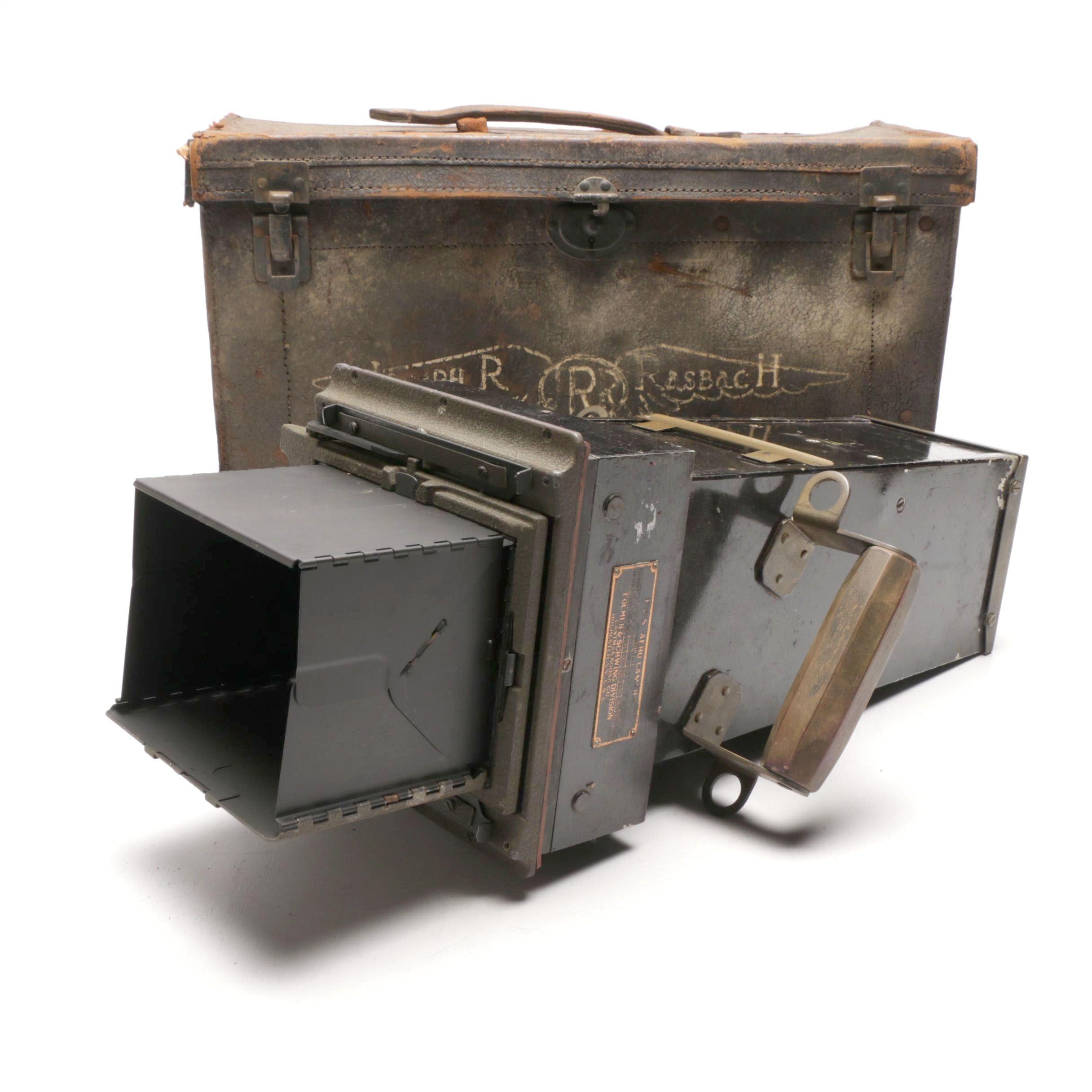 "Ca. 1917 Folmer and Schwing A1 ""Aero Camera"""