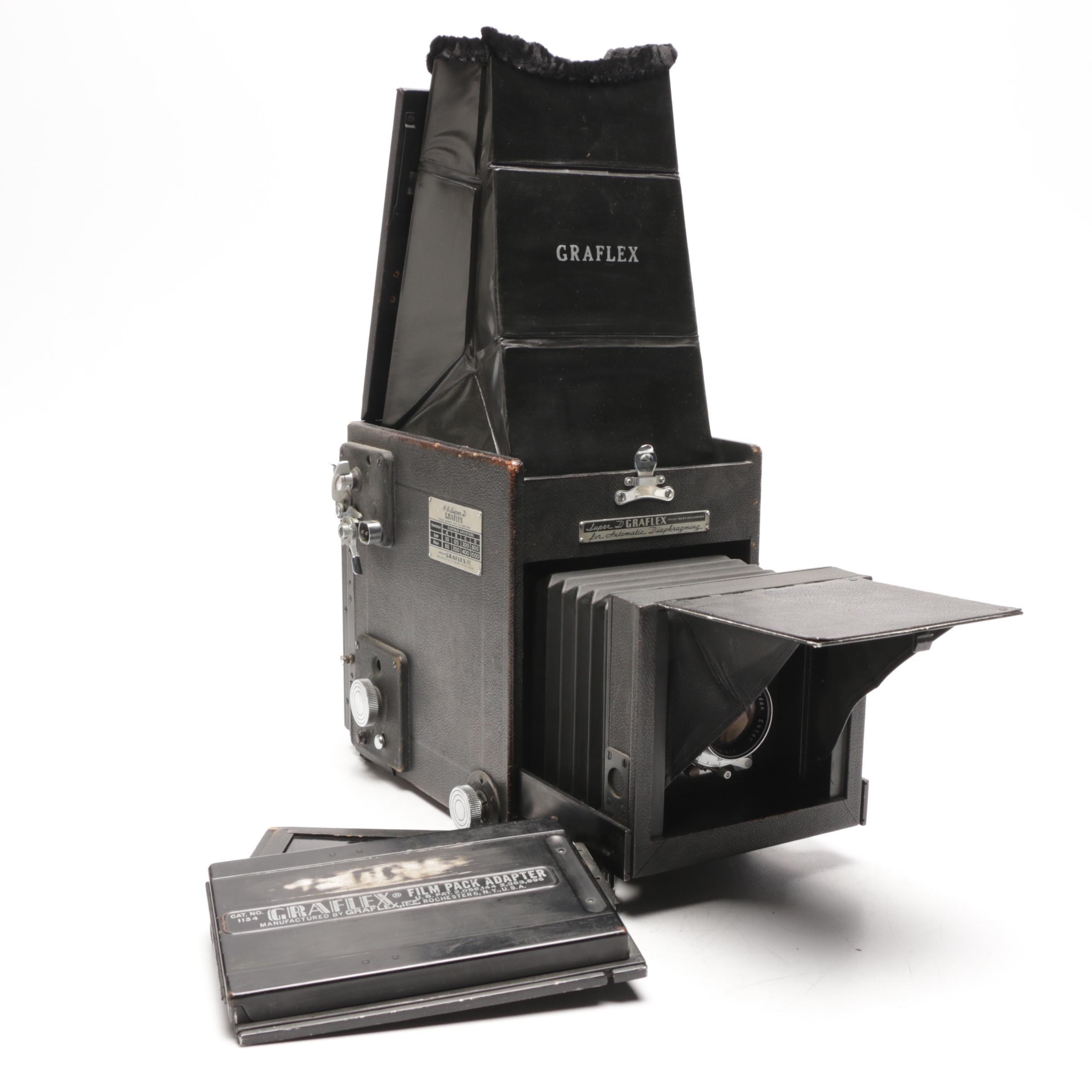 """Graphlex """"Super D"""" 4x5 Medium Format Camera"""