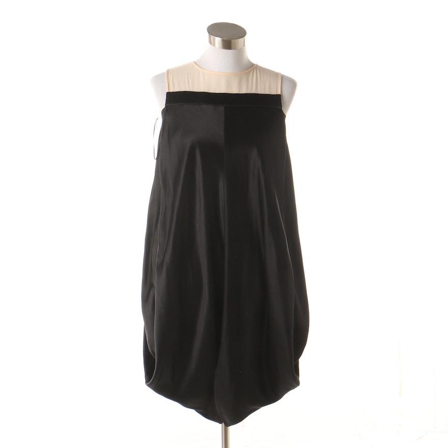 new concept 1cc91 03bf5 Alexander McQueen Black Silk Sleeveless Bubble Dress, Made in Italy