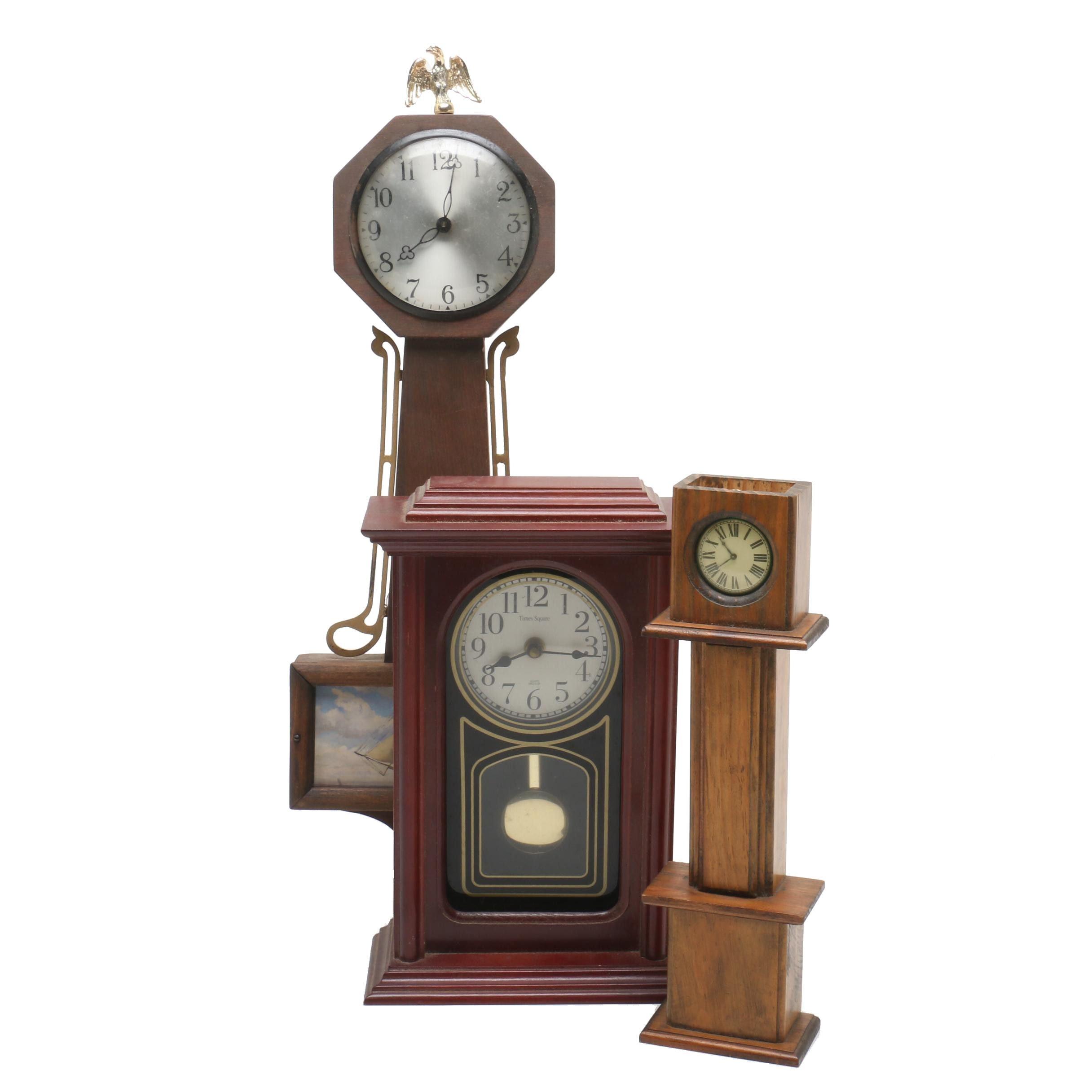 Assorted Novelty Clocks
