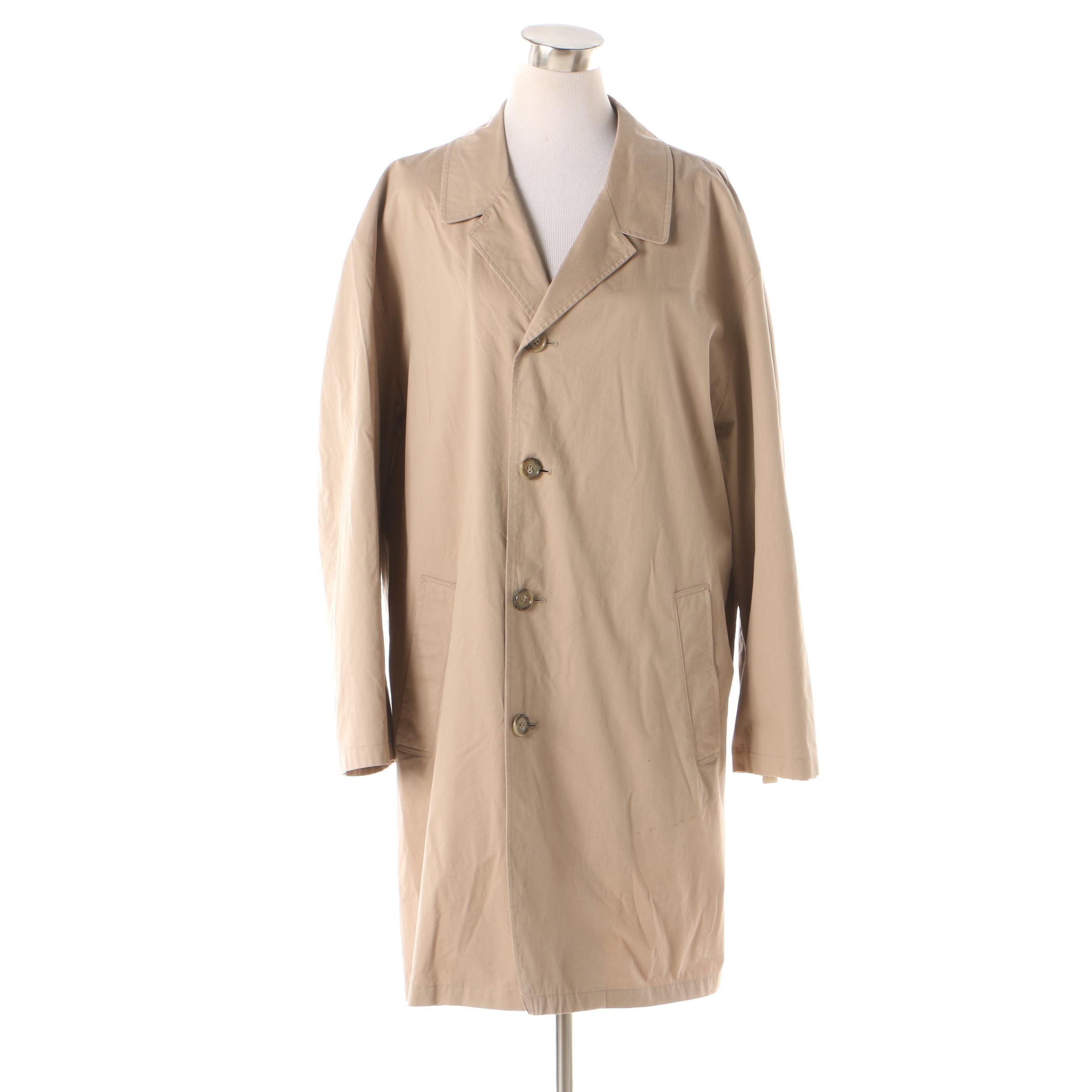 Brooks Brothers Rain Coat