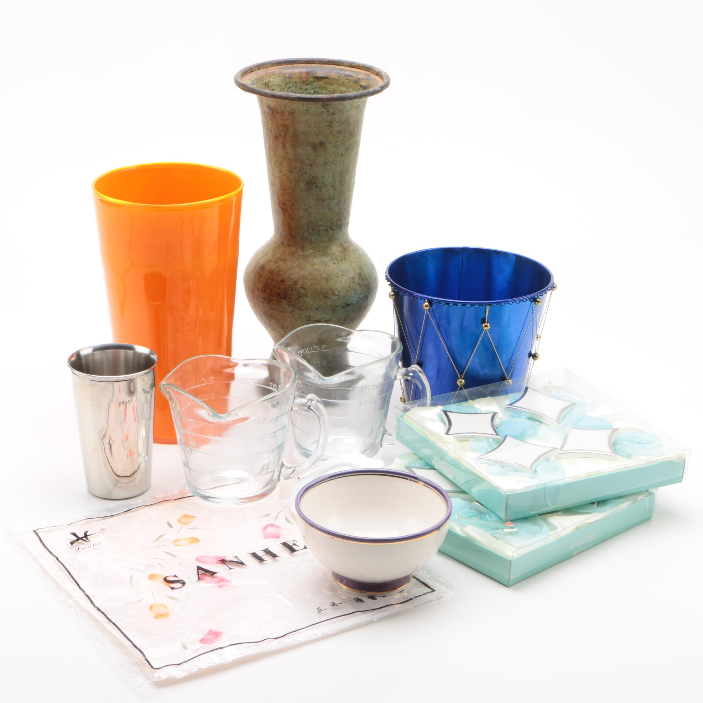 Kitchenware, Tableware and Decor Including Pottery Barn and Sanhe