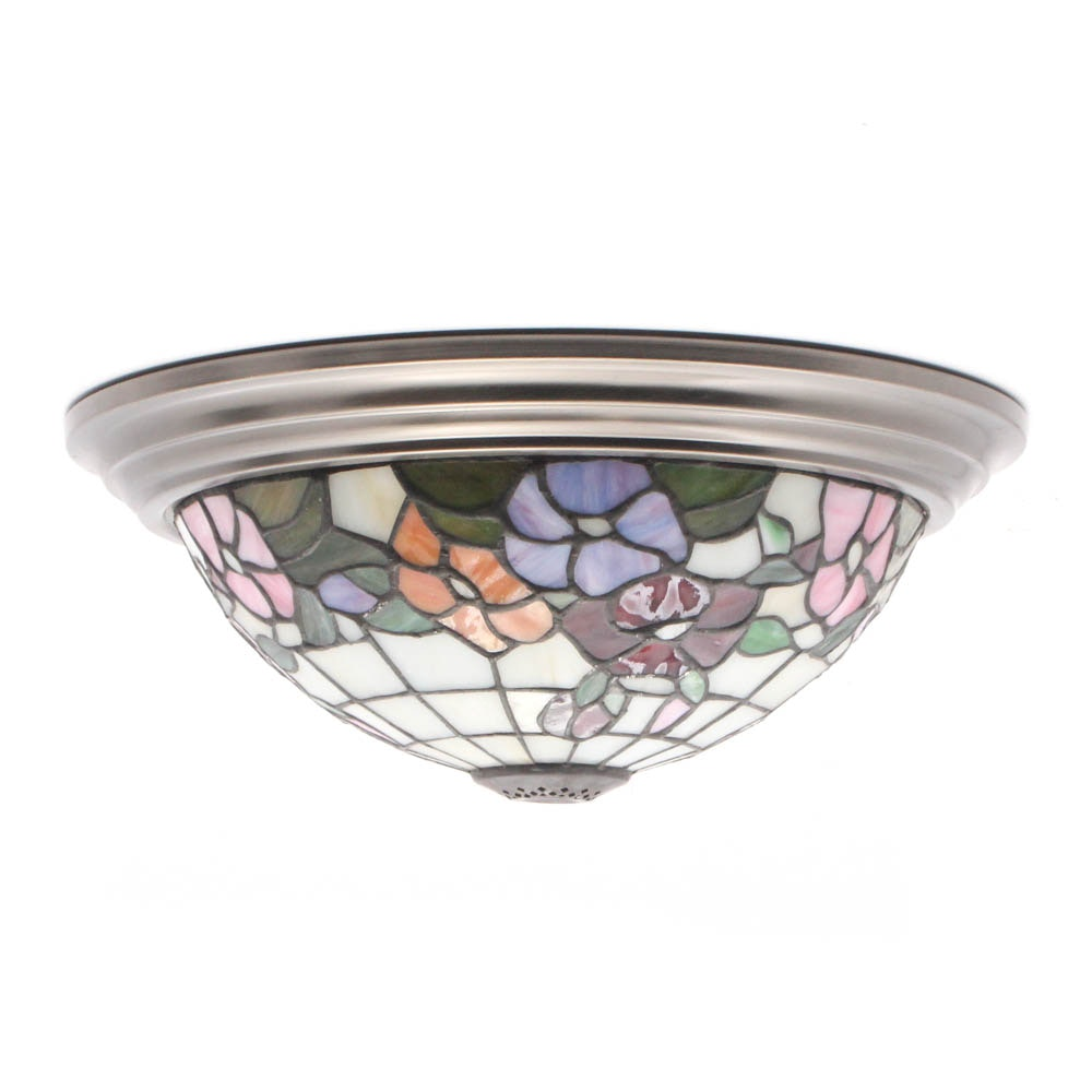 Tiffany Style Stained Glass Ceiling Light Shade