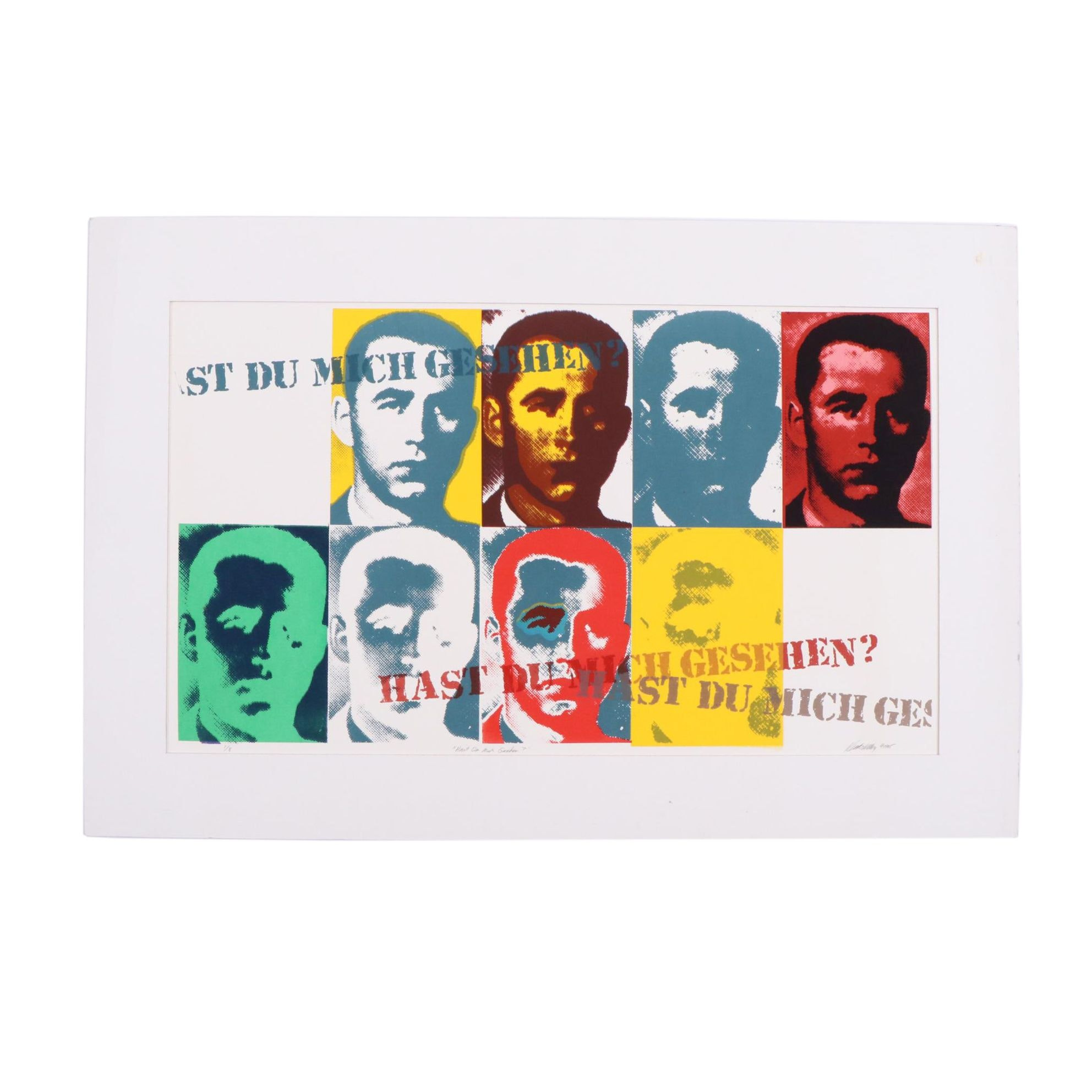 """Kevin T. Kelly Limited Edition Serigraph """"Hast Du Mich Gesehen?"""""""