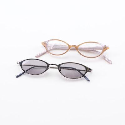 e65fe0e492 Morgenthal-Frederics Jill Sunglasses and Primrose Eyeglasses