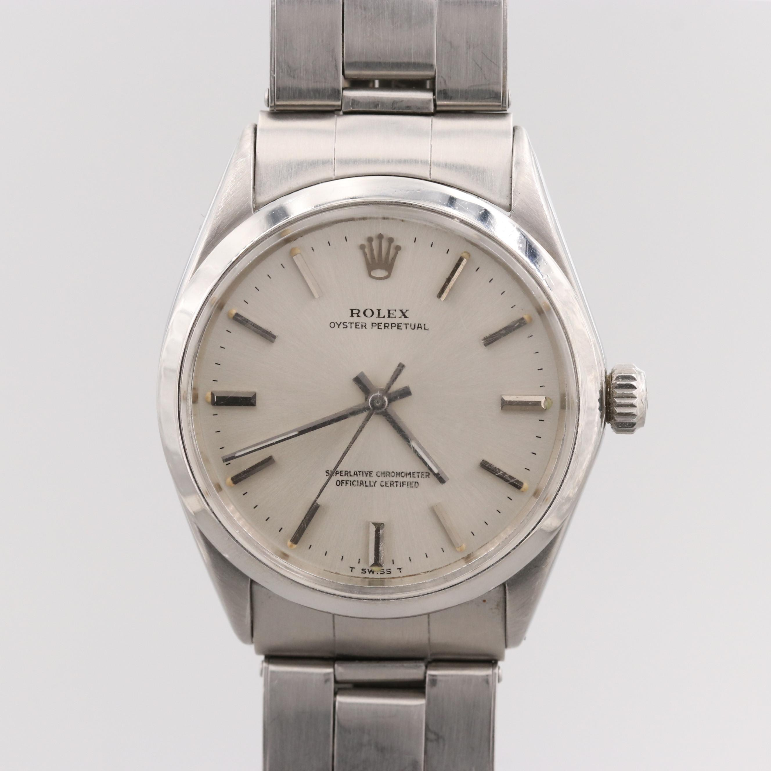 Rolex Oyster Perpetual Wristwatch, 1969