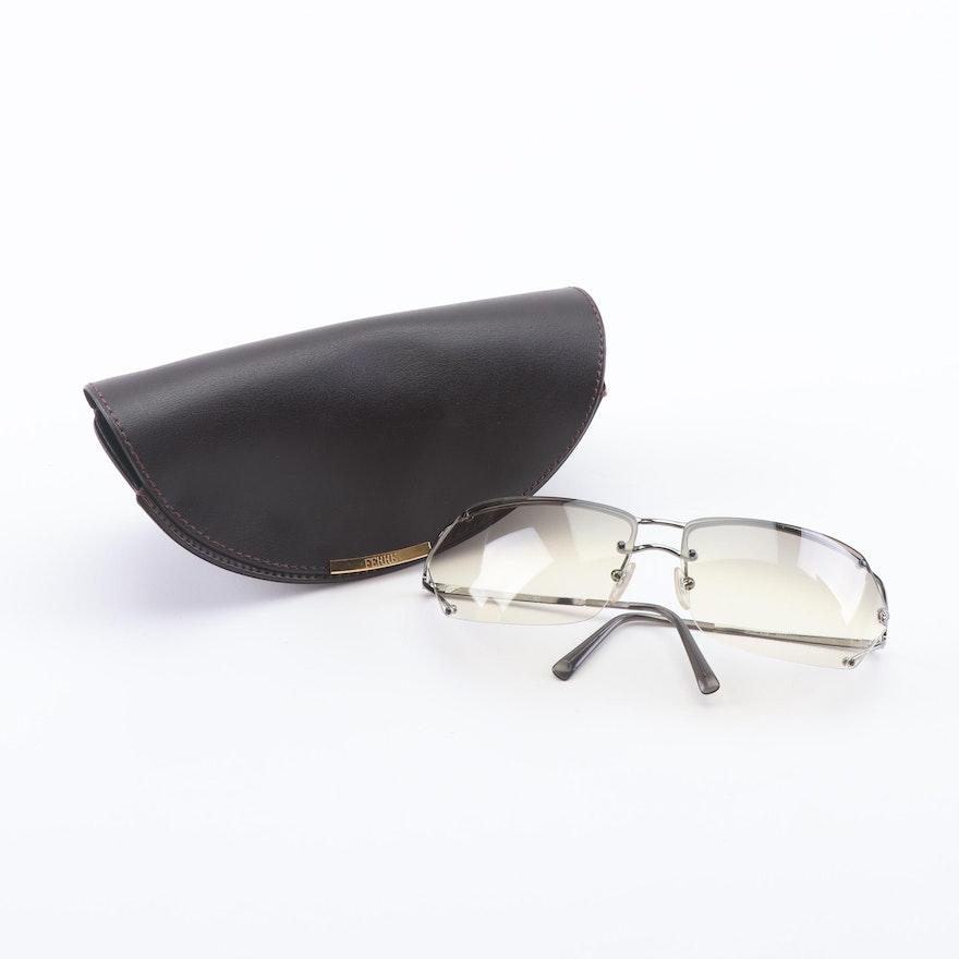 e89764b2e6 Versace N36 Semi-Rimless Sunglasses with Case   EBTH