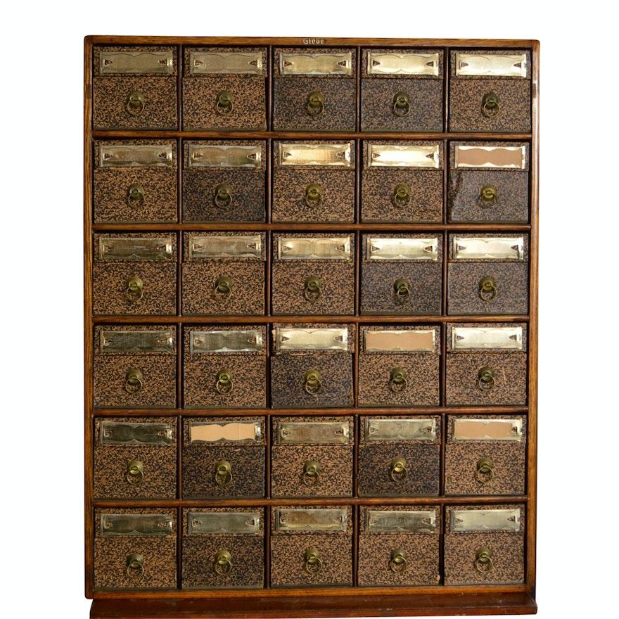 - Vintage File Cabinet : EBTH