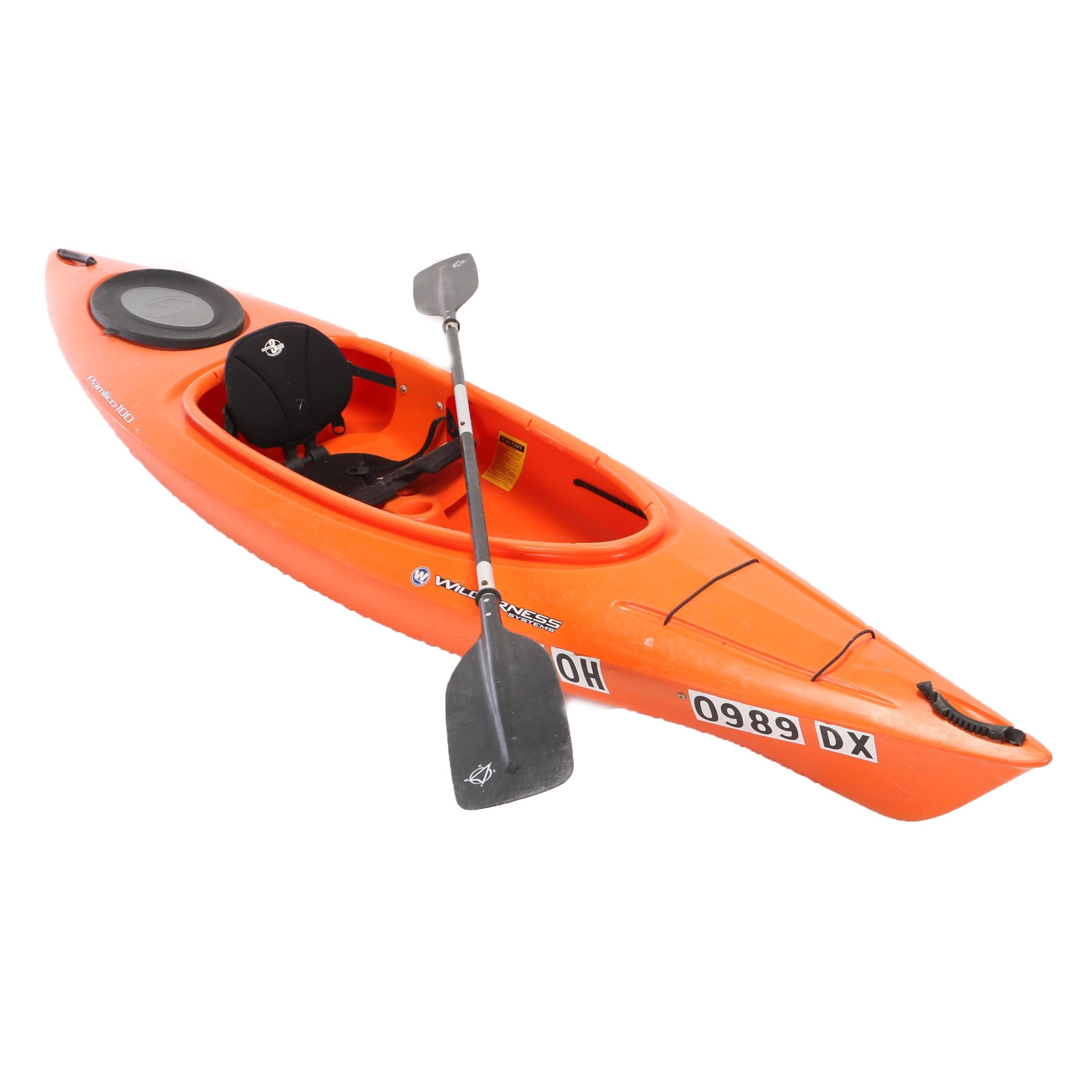 Wilderness Systems Pamlico 100, 10ft Kayak and Paddle