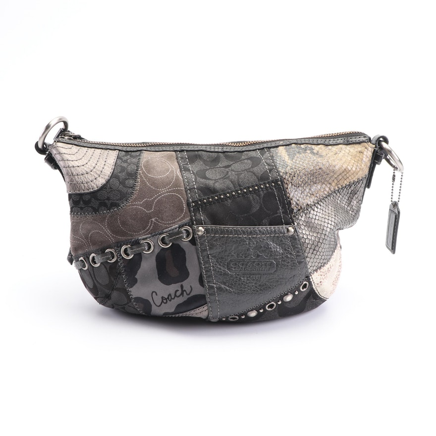 1c2bbd720143 Coach Patchwork Soho Tonal Hobo Bag