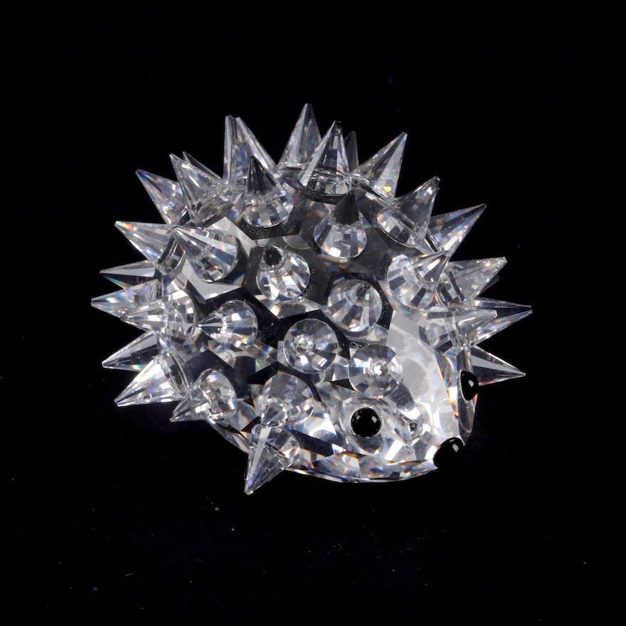b579e8756 Swarovski Crystal Hedgehog Figurine Designed by Max Schreck, 1989-2006 ...