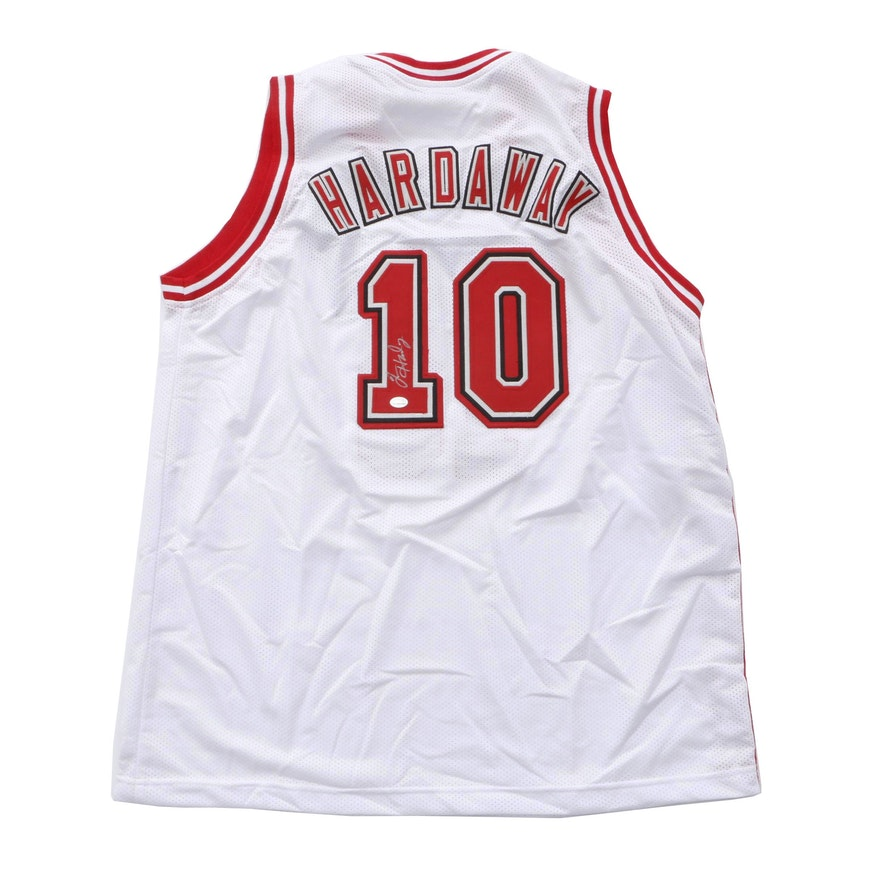 pretty nice 01a0e 559dc Tim Hardaway Signed NBA Miami Heat Basketball Jersey