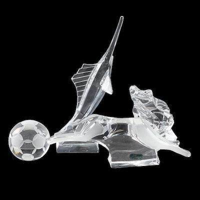 9e9cfcfe2 J.G. Durand Crystal Figurines including