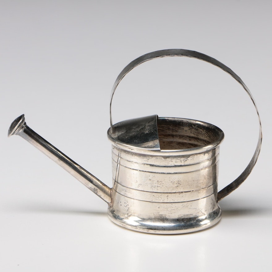 cbc741140ab72 Cartier Sterling Silver Miniature Watering Can   EBTH