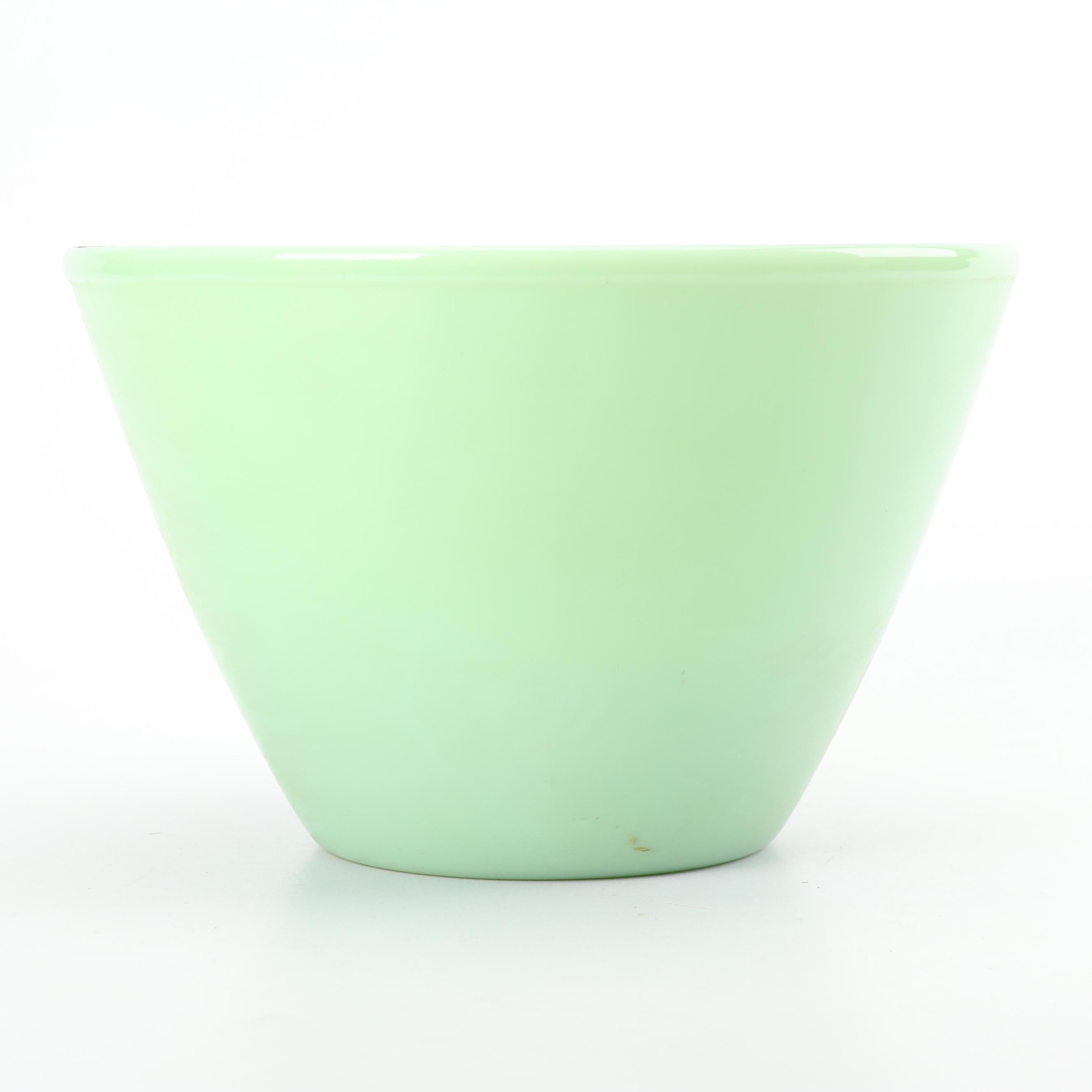 "Anchor Hocking Fire-King ""Jade Ite"" Splash Proof Mixing Bowl"
