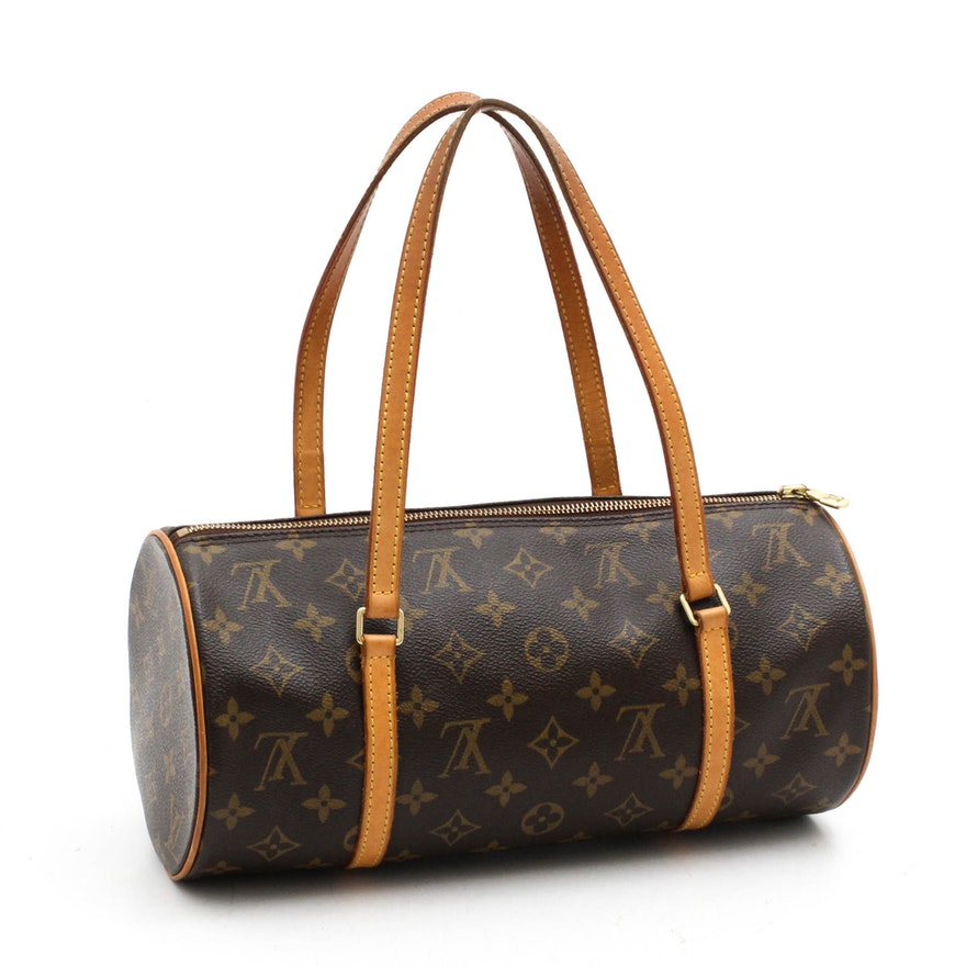 Louis Vuitton Paris Monogram Canvas Papillon 30 Handbag   EBTH 57a84e4377b0d
