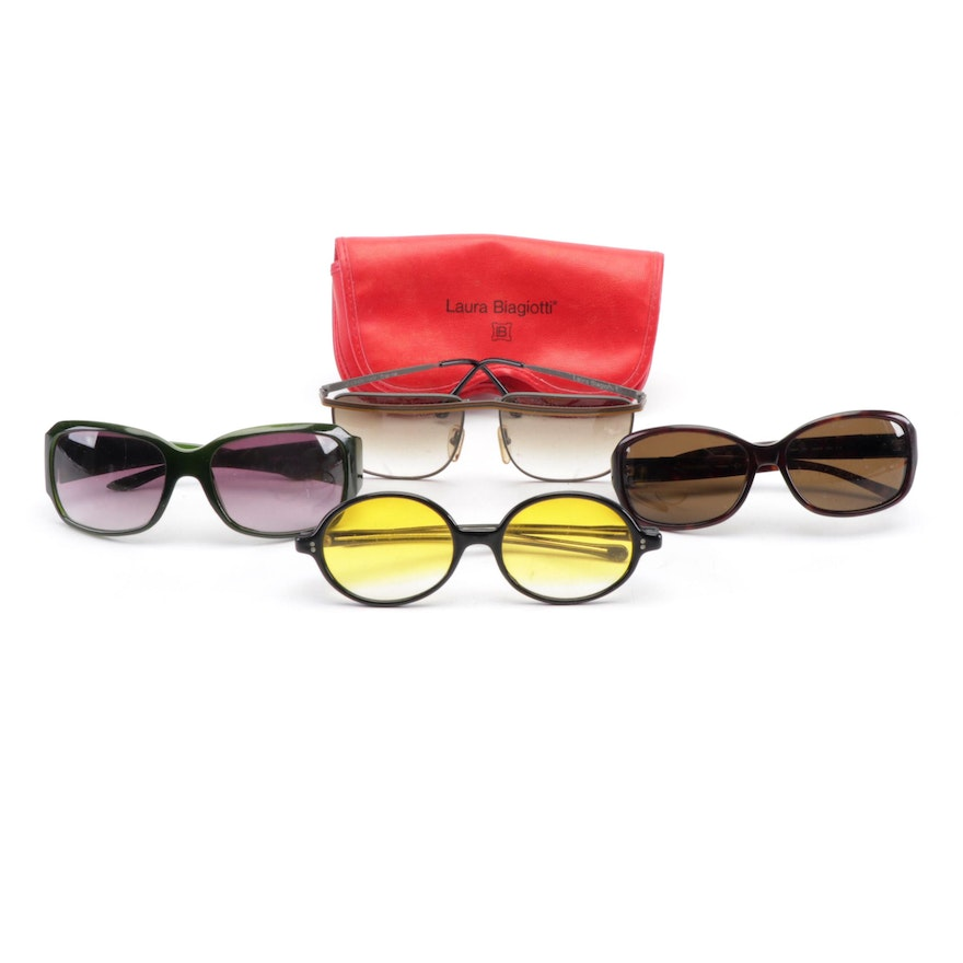 fe57d2d3ff8 Women s Sunglasses Including Laura Biagiotti and Kate Spade New York ...