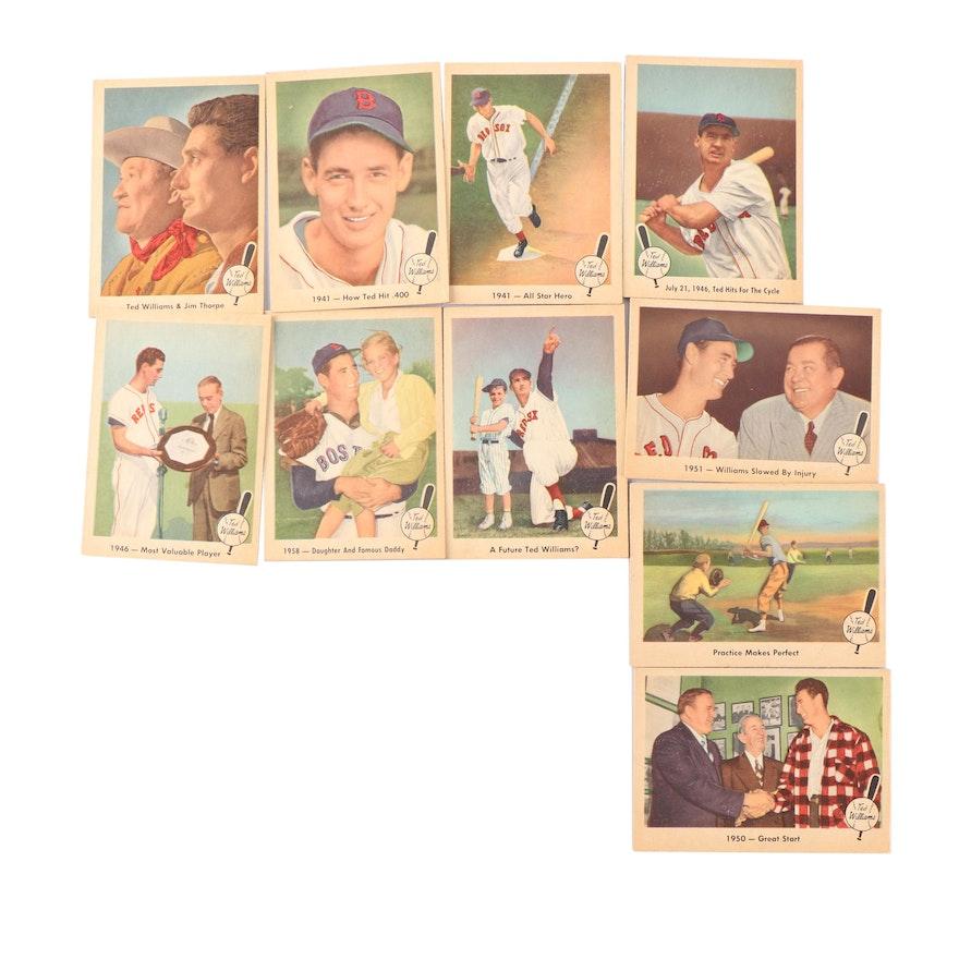 Fleer Baseballs Greatest Ted Williams Baseball Cards 1959