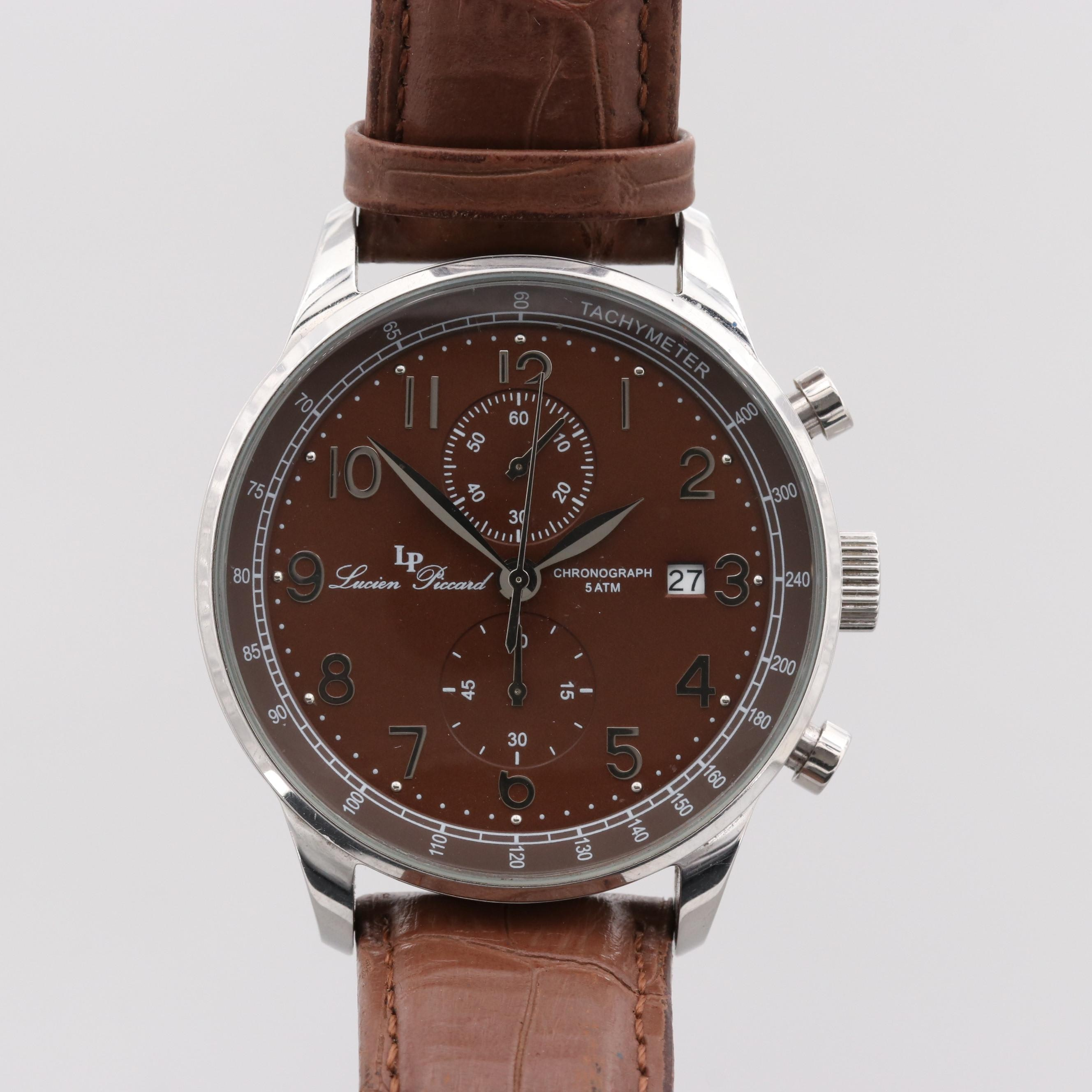 Lucien Piccard Montilla Stainless Steel Quartz Chronograph Wristwatch