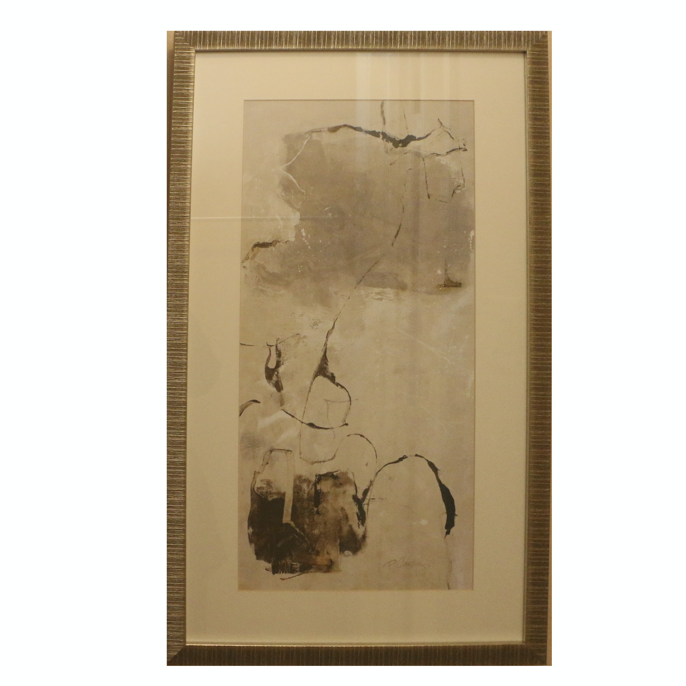 "Offset Lithograph after Dennis Carney ""Painter Link I"""