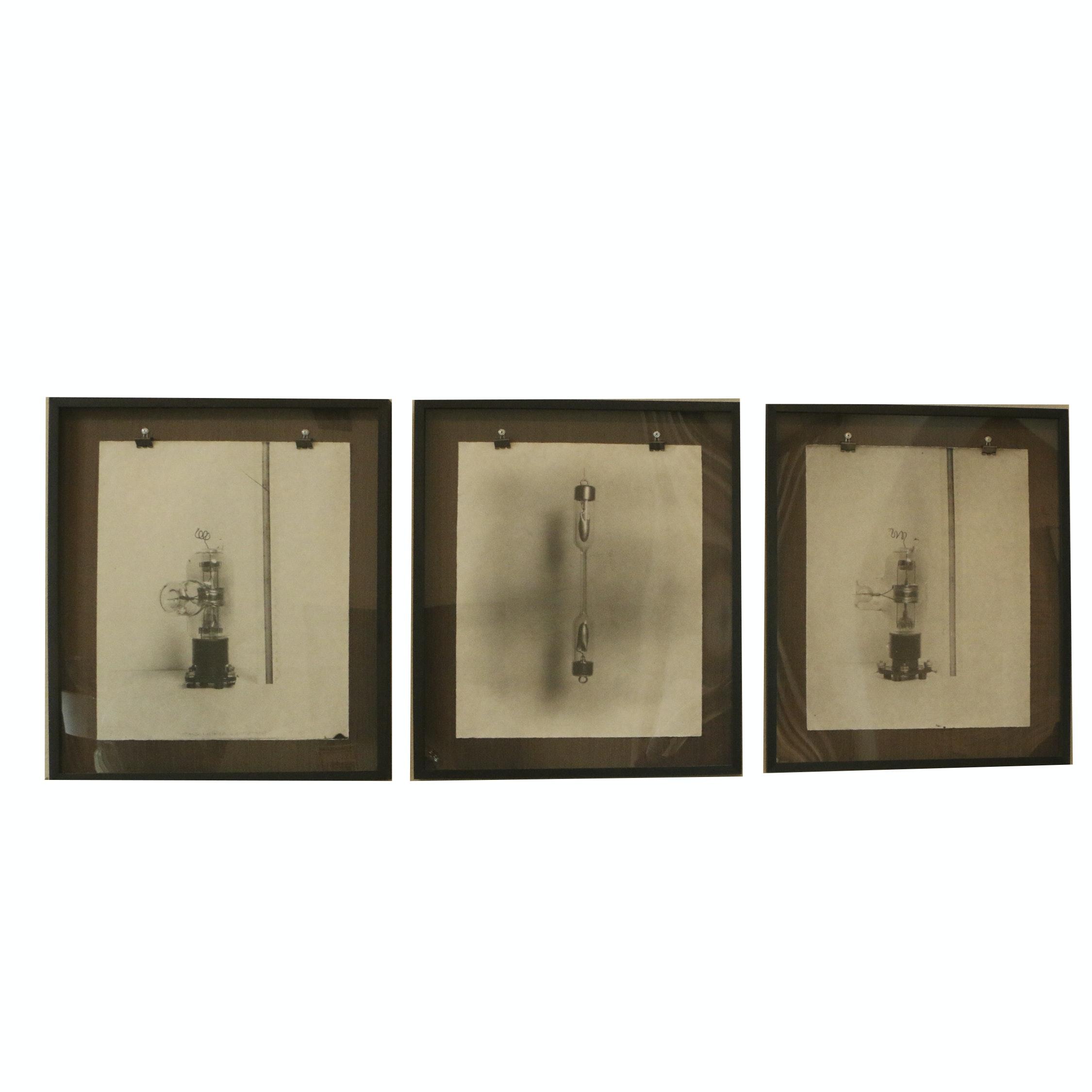Offset Lithographs of Lightbulbs