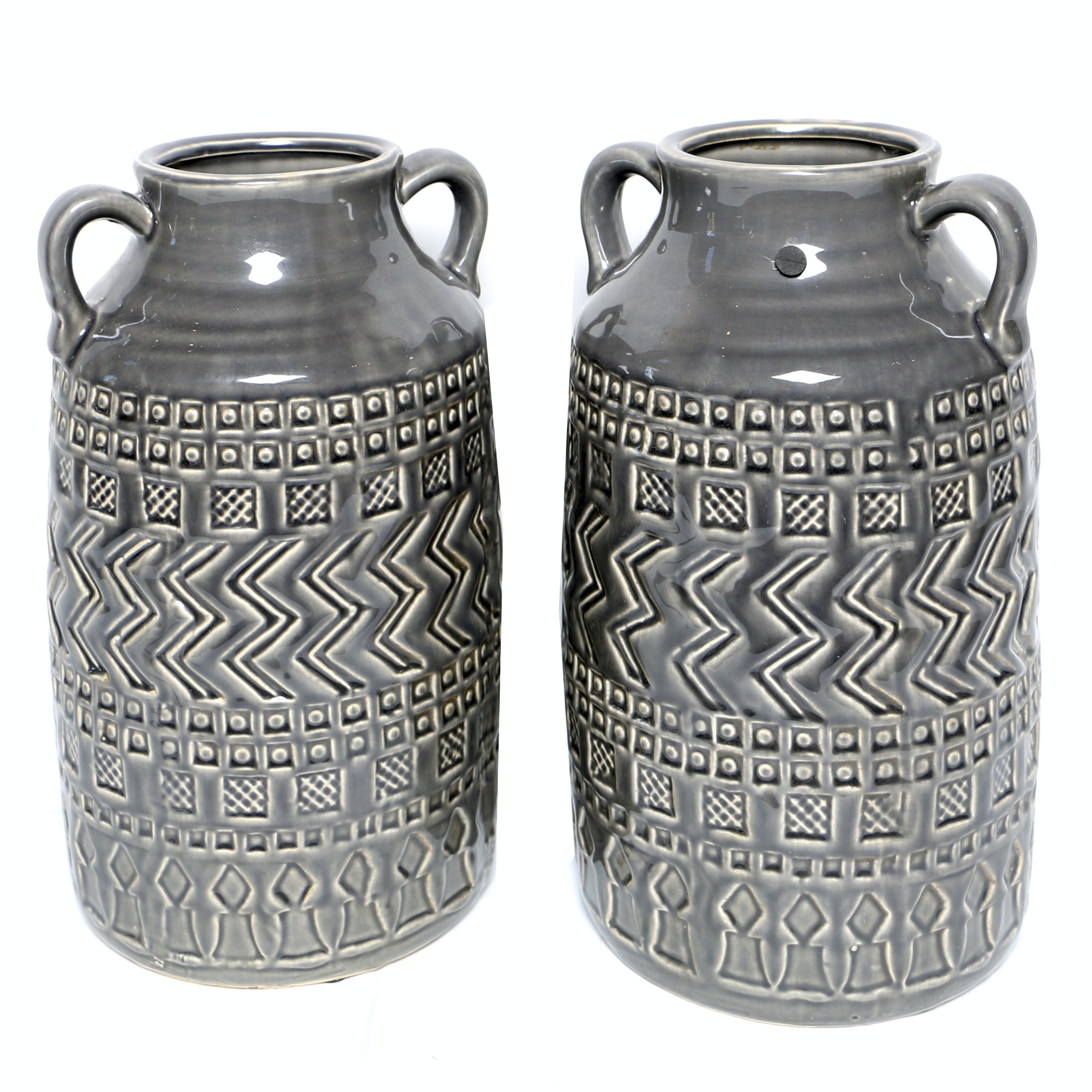 Incised Ceramic Vases