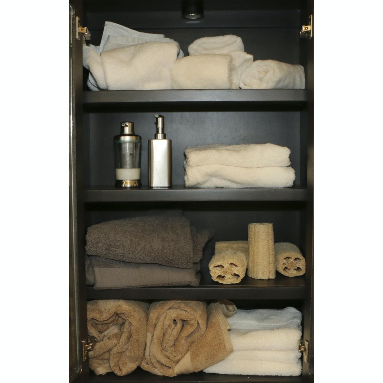 Bathroom Towels and Soap Dispensers