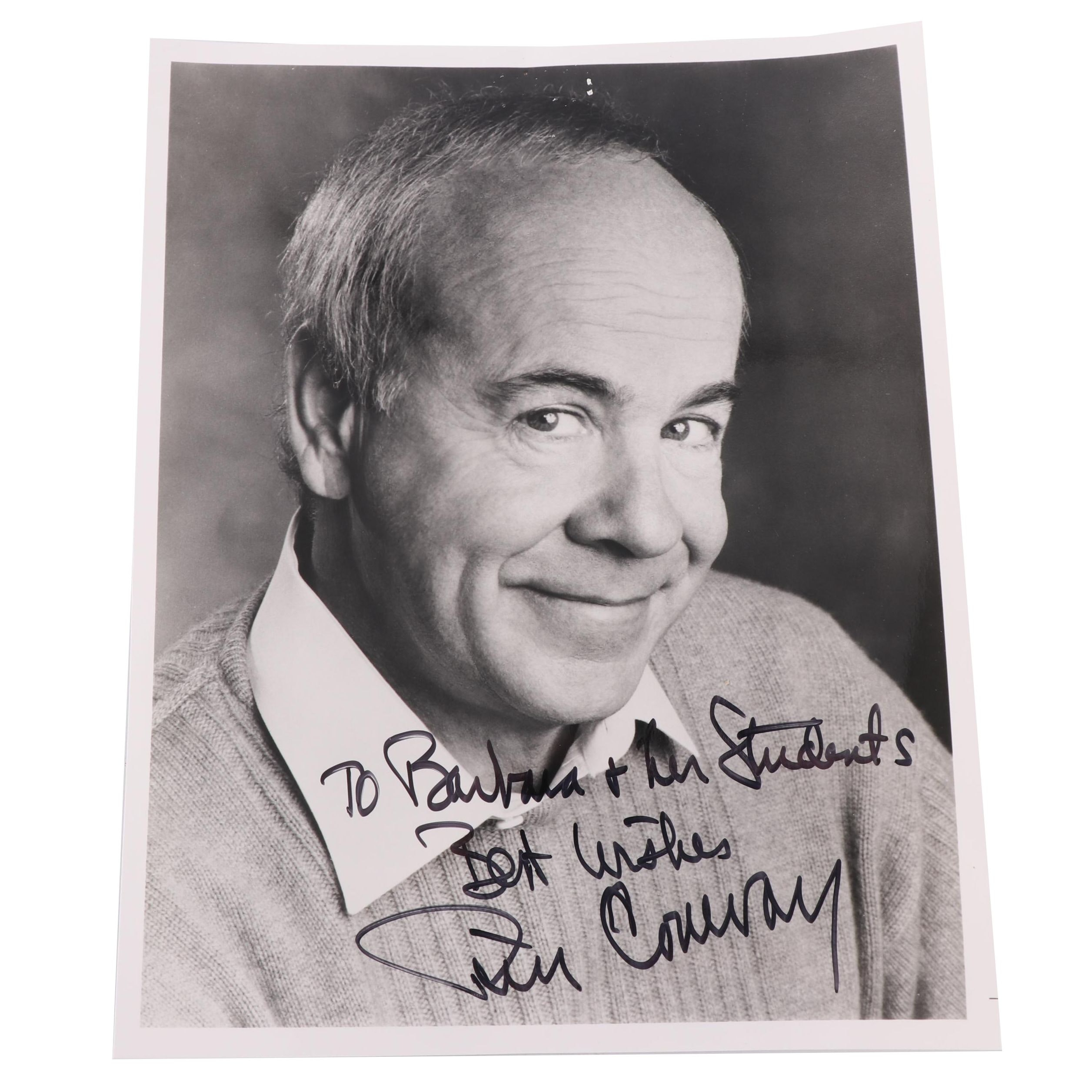 Tim Conway Autographed Photo