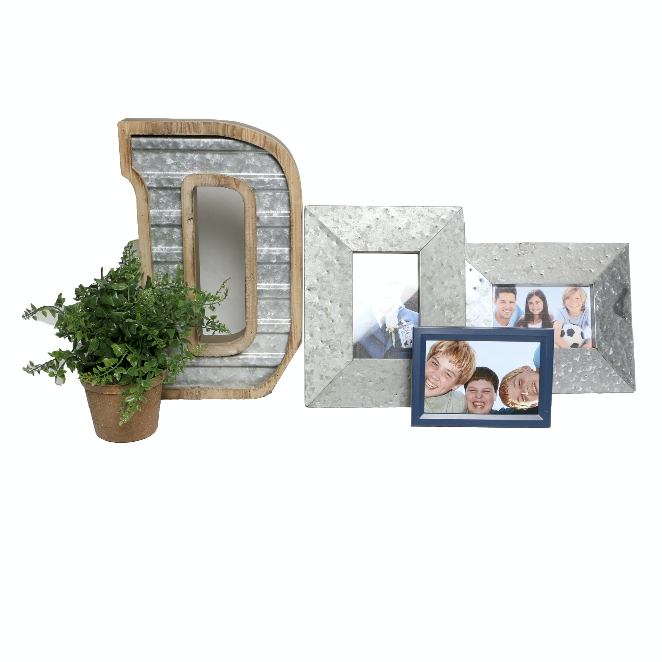 Tabletop Picture Frames and Other Decor