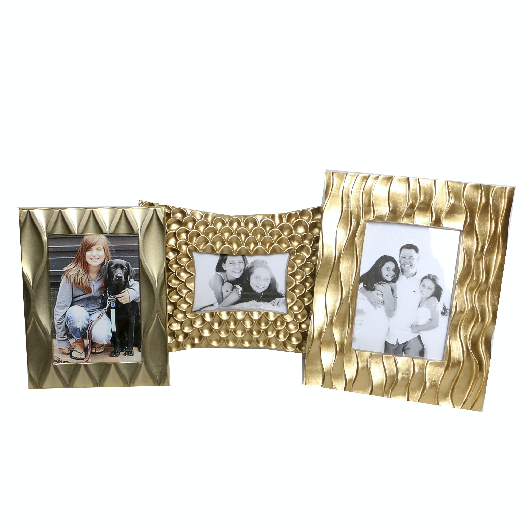 Metallic Tabletop Picture Frames