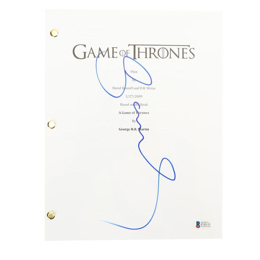 111a5d63e Sophie Turner Autographed