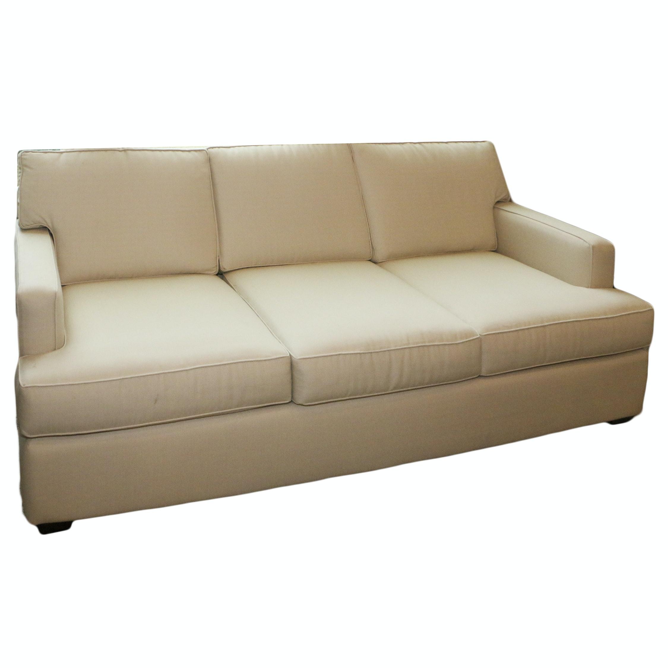 Upholstered Sofa, 21st Century