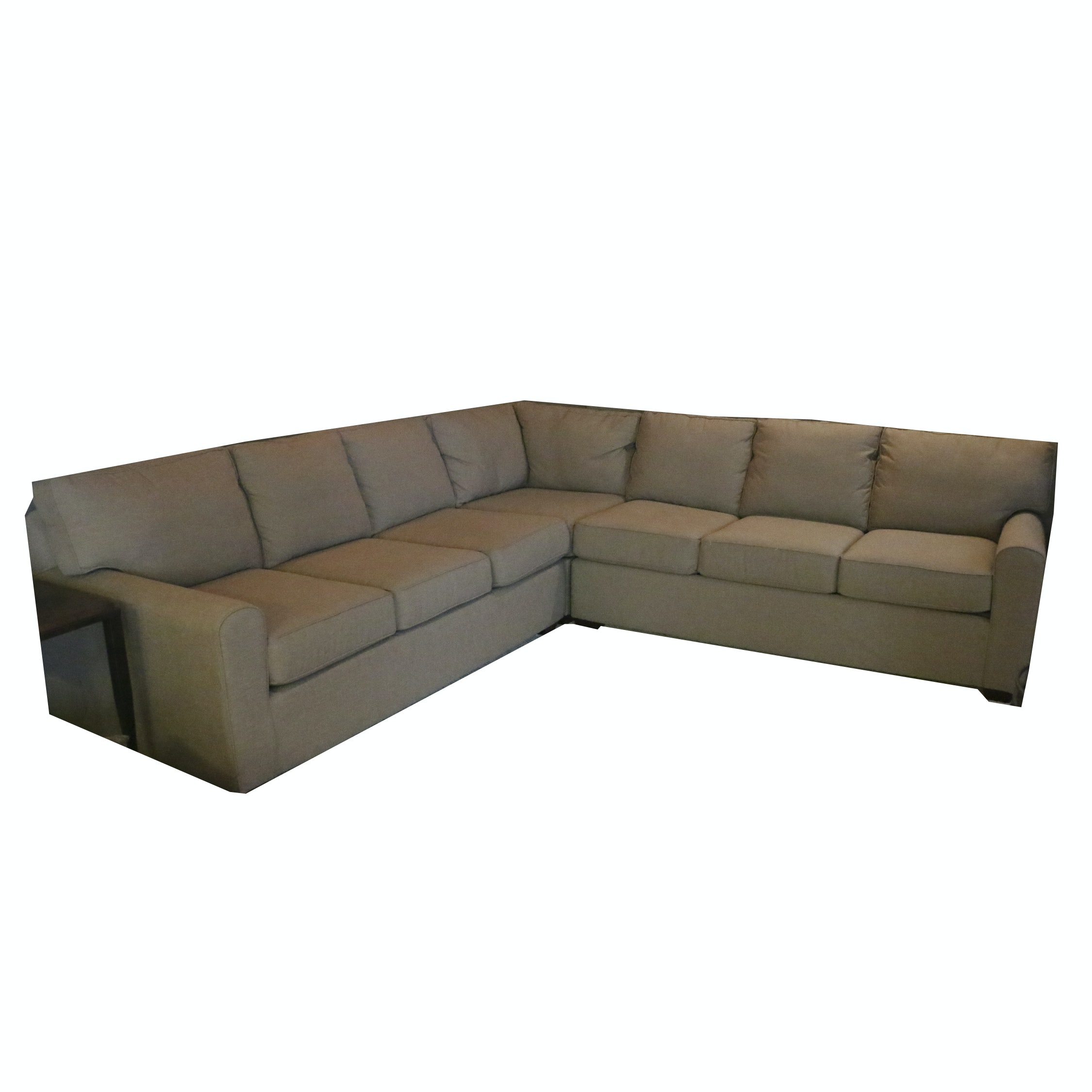 Upholstered Sectional Sofa, 21st Century