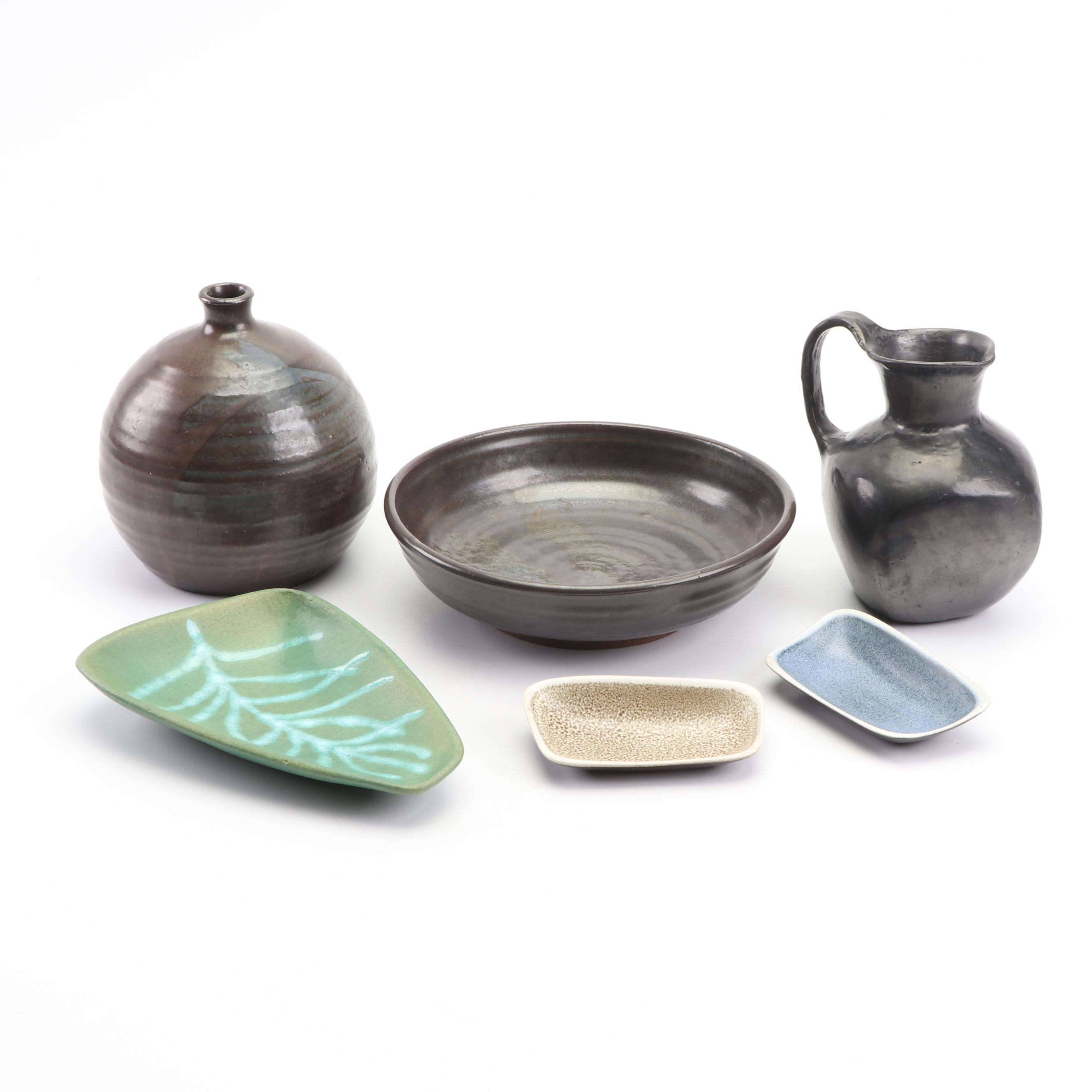 Mid Century North American Pottery Featuring Abe Cohn and Doña Rosa