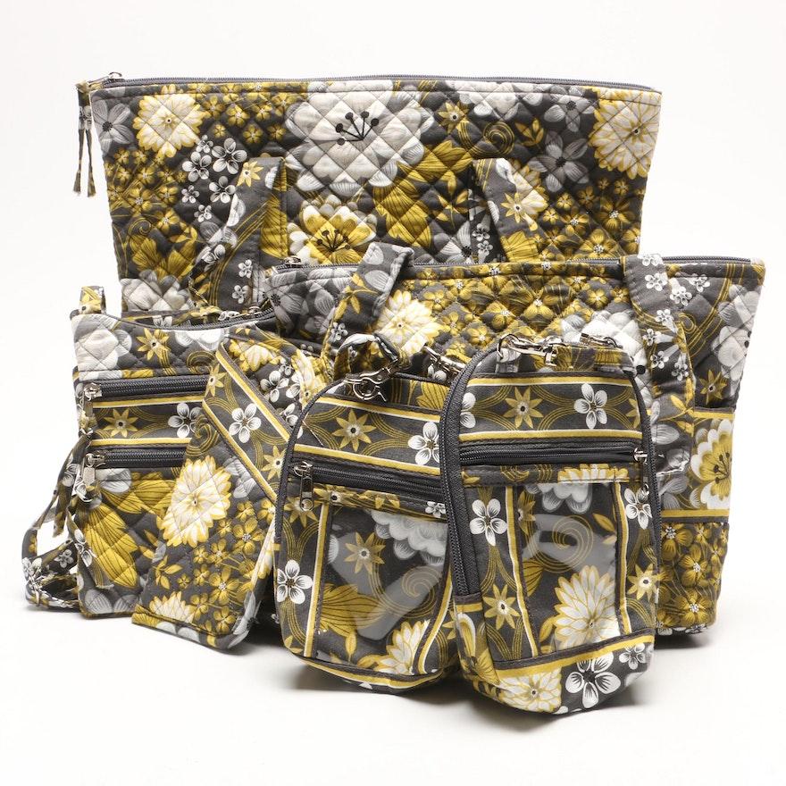 0928b02839c1 Stephanie Dawn Savannah Shopper Tote with Matching Bags and Accessories