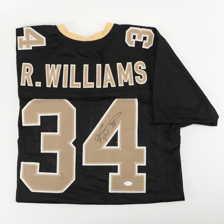 6753bb003 Ricky Williams Autographed New Orleans Saints Jersey - JSA COA   EBTH