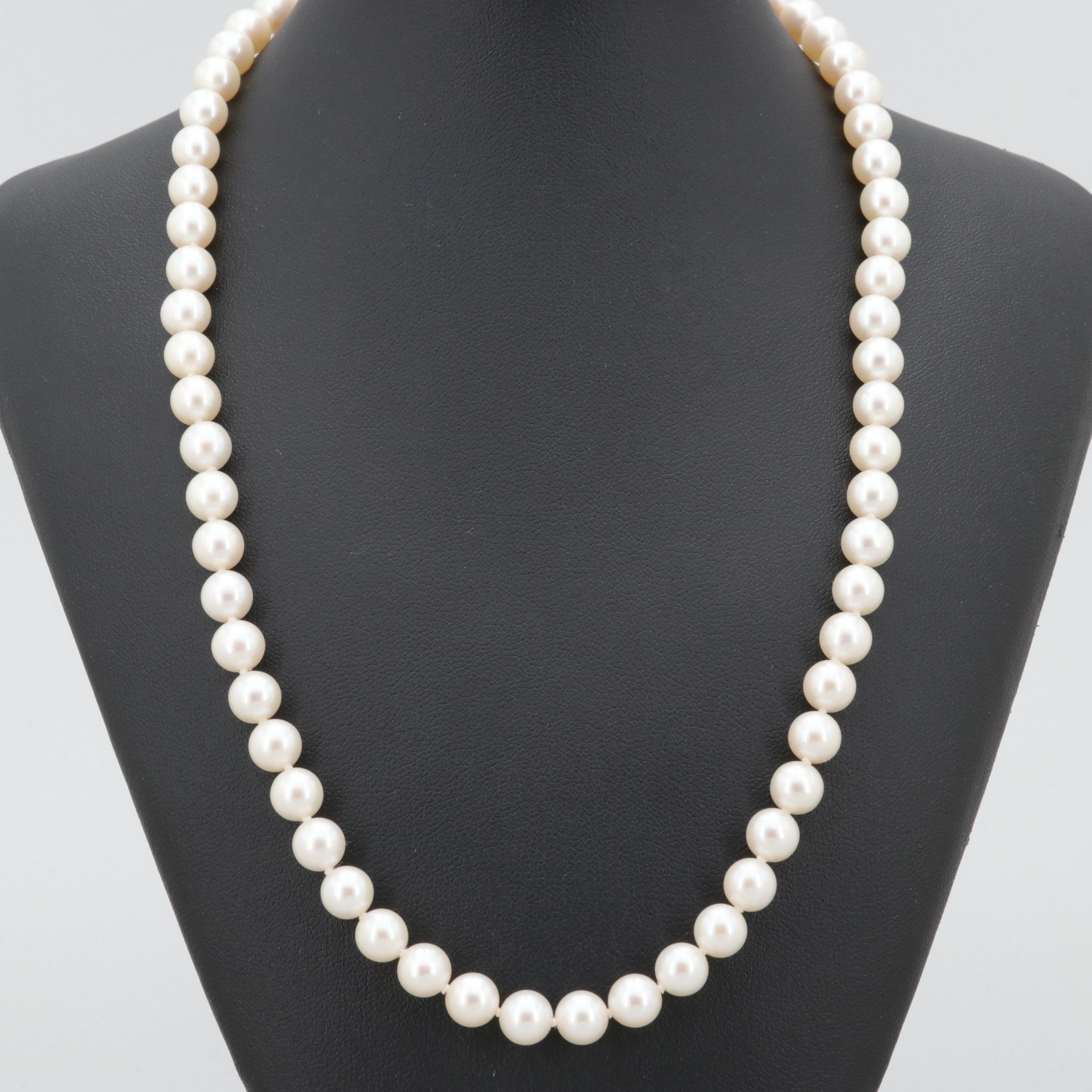 Blue Lagoon by Mikimoto 14K Yellow Gold Cultured Pearl Necklace