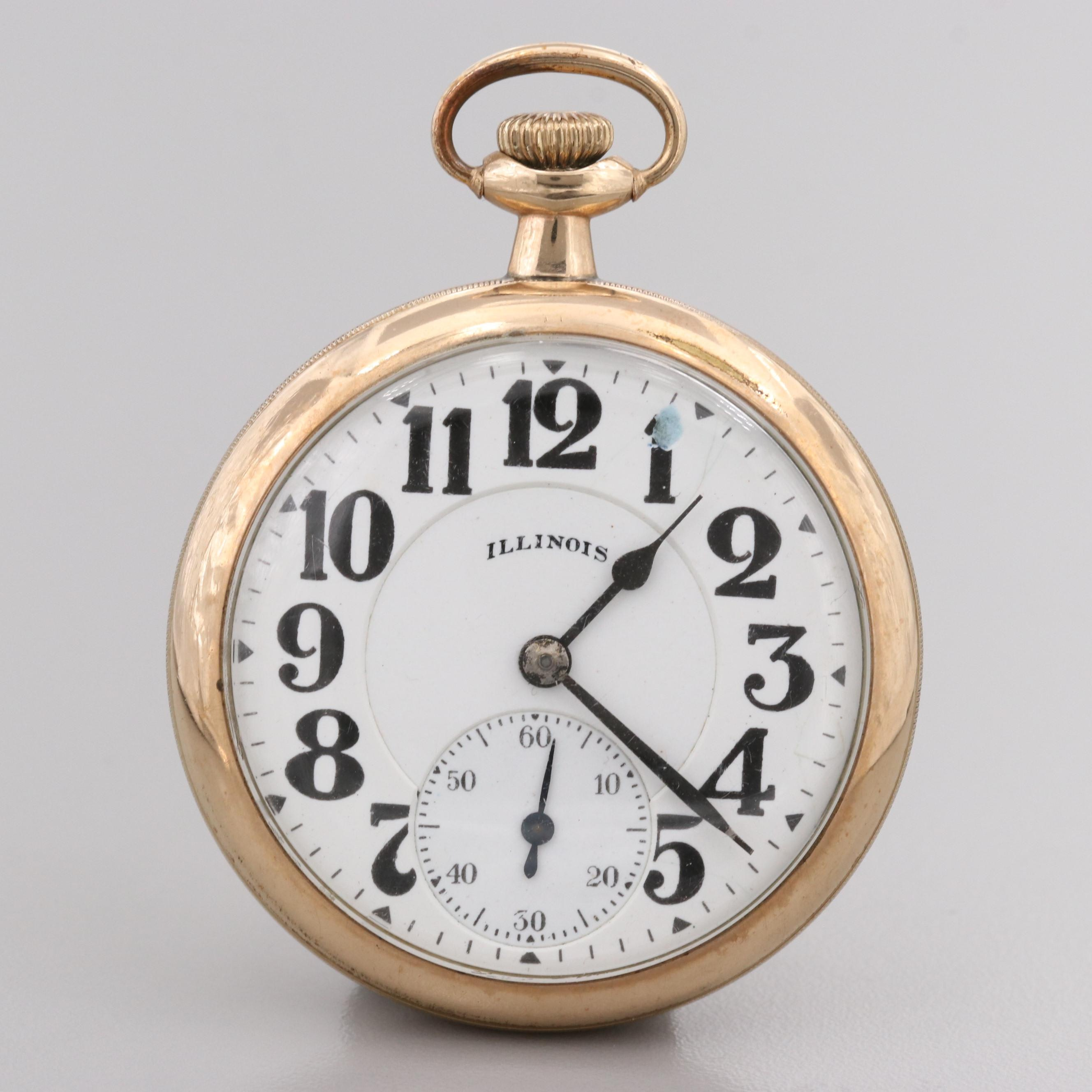 Illinois Bunn Special Pocket Watch, 1920