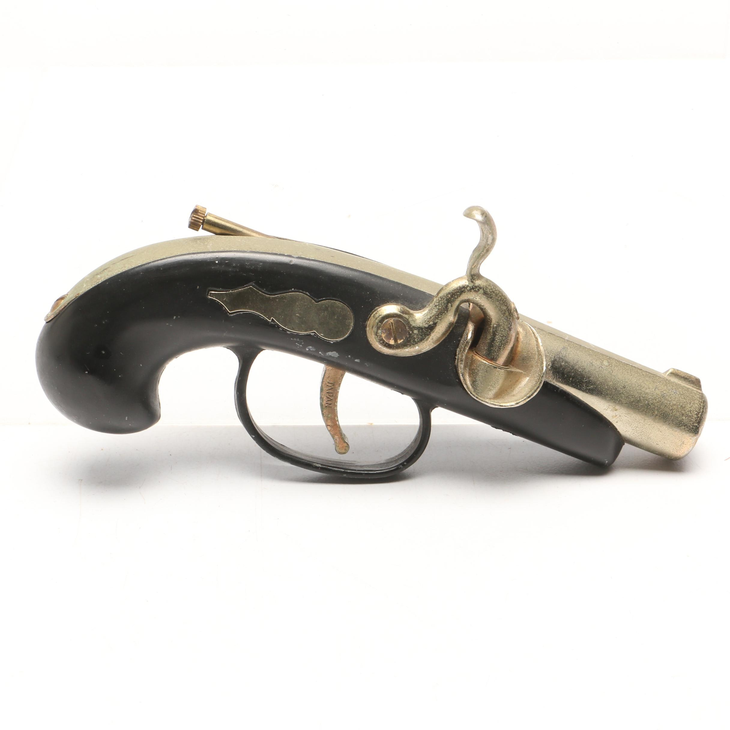 Cigarette Lighter as a Replica of a 19th-Century Era Black Powder Pistol