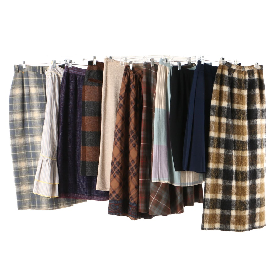 7c55364bc Women's Wool Skirts Including Ralph Lauren, Cacharel and Marc Jacobs,  Vintage : EBTH