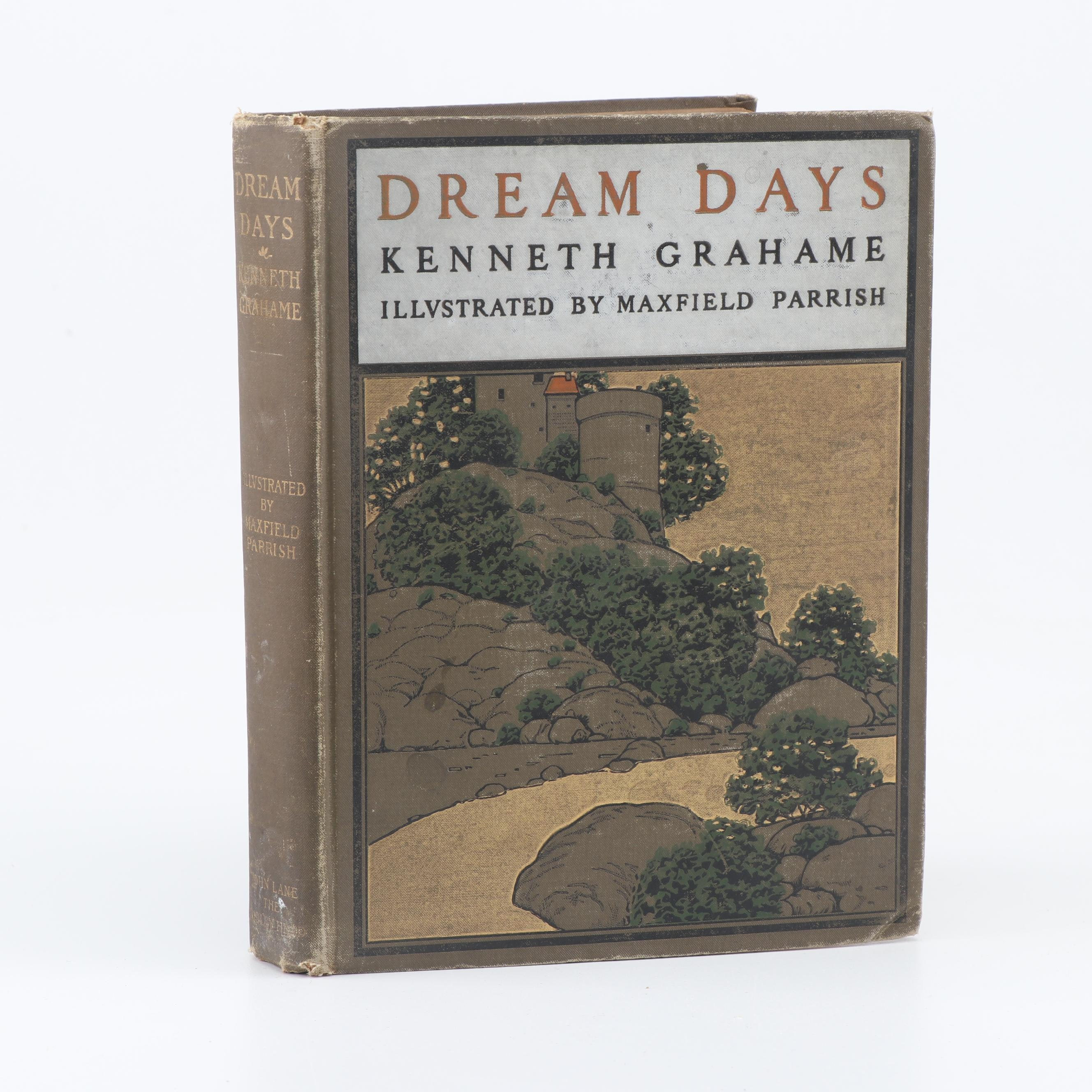 """""""Dream Days"""" by Kenneth Grahame and Illustrated by Maxfield Parrish, 1902"""