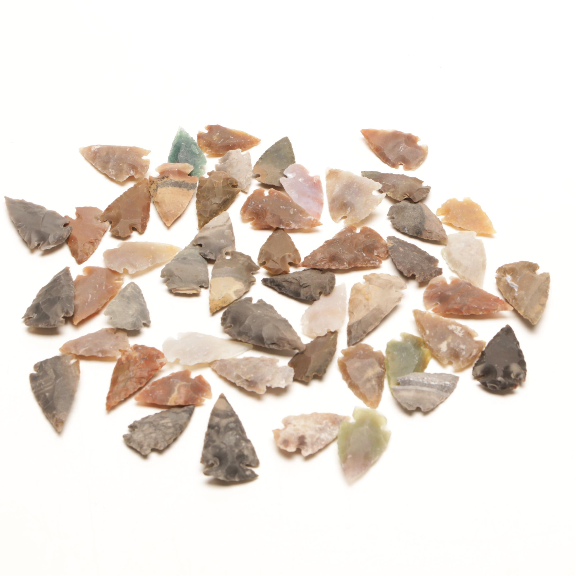 Reproduction Late Prehistoric Style Projectile Points